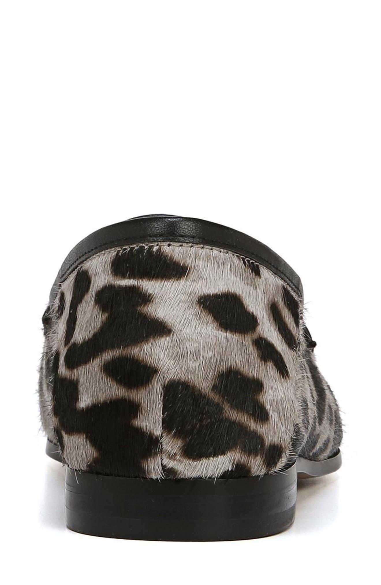 Lior Genuine Calf Hair Loafer,                             Alternate thumbnail 8, color,                             GREY MULTI LEOPARD CALF HAIR