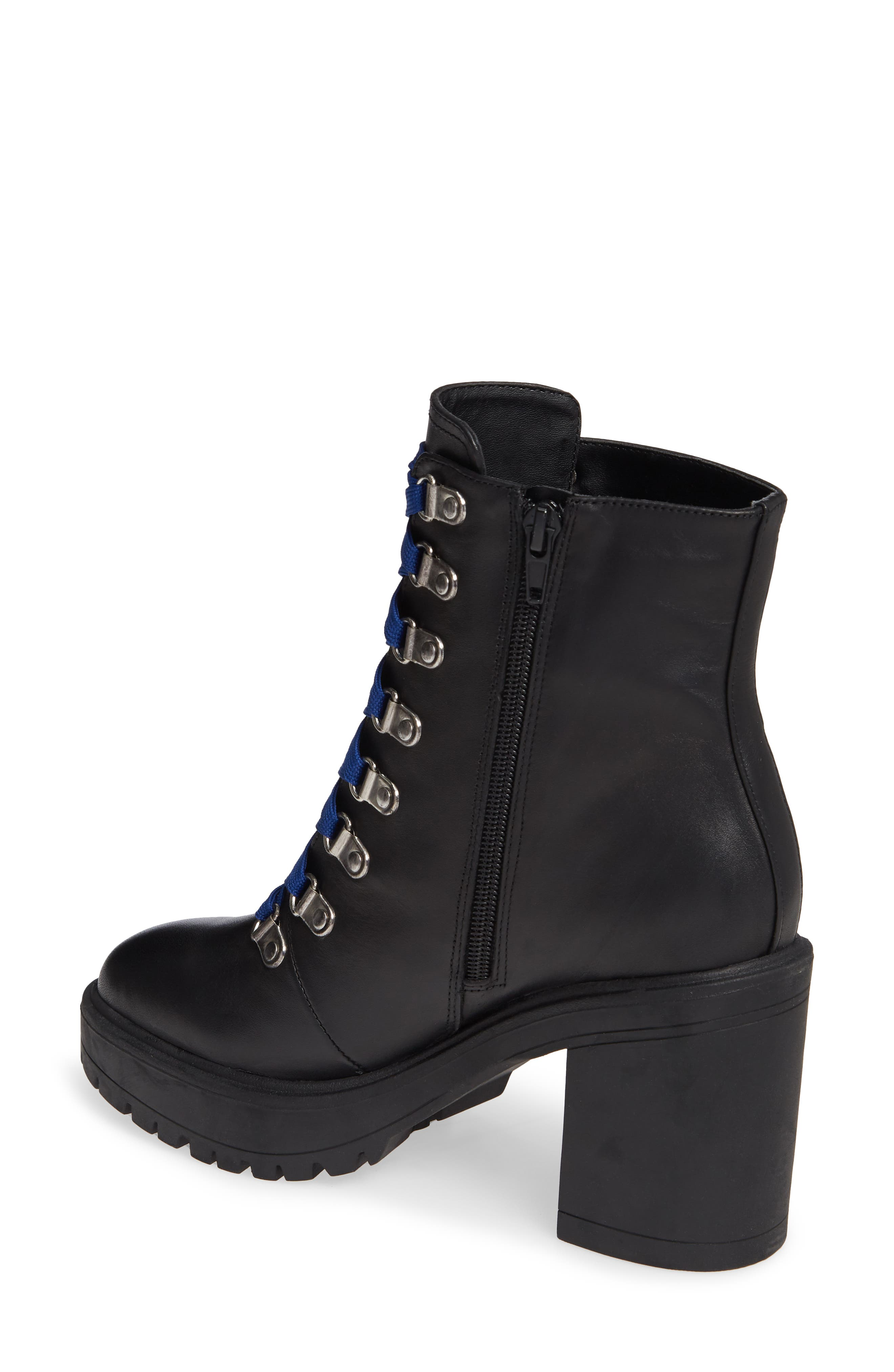 Royce Bootie,                             Alternate thumbnail 2, color,                             BLACK LEATHER
