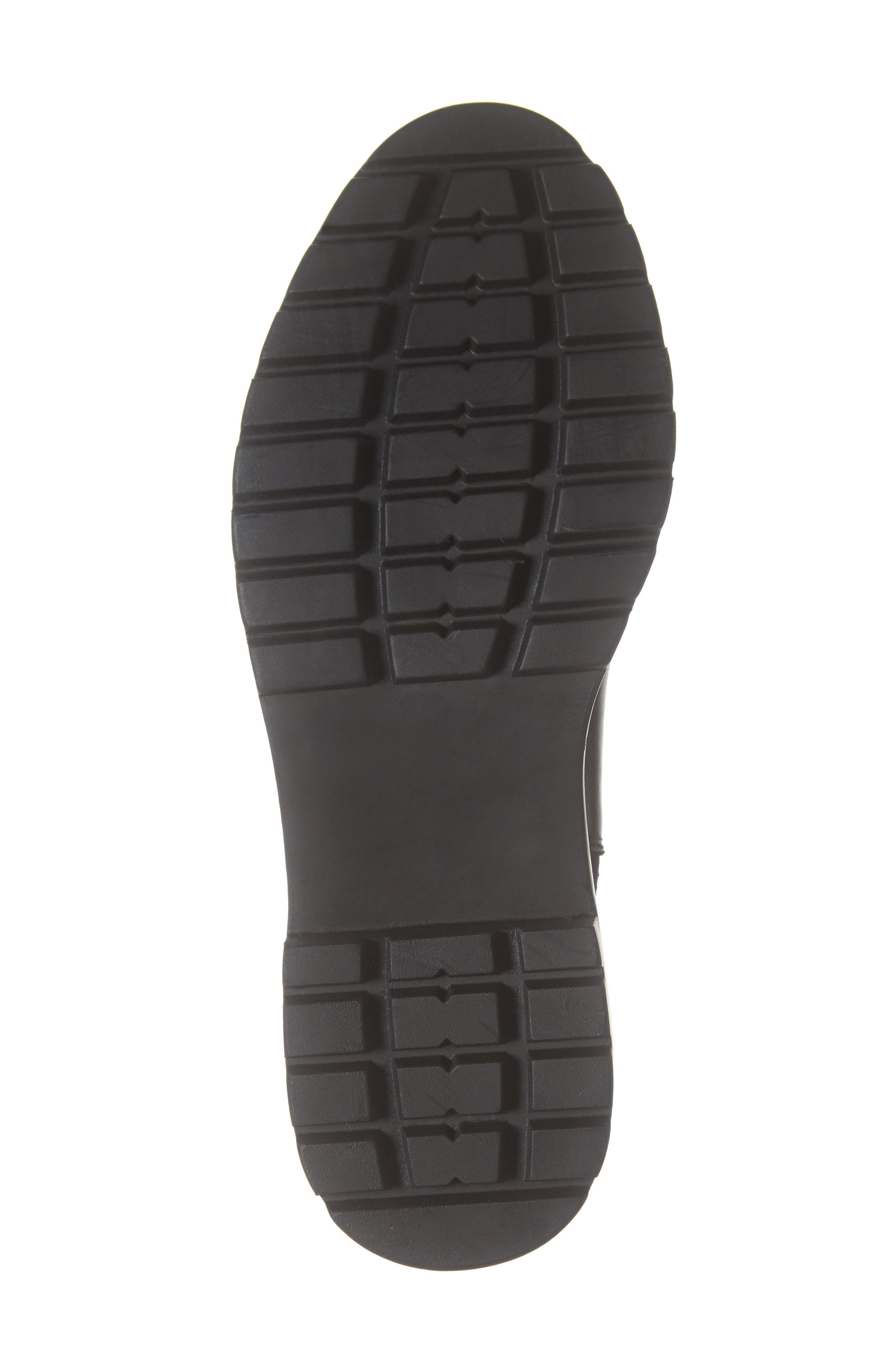 Gliding Boot,                             Alternate thumbnail 6, color,                             BLACK LEATHER