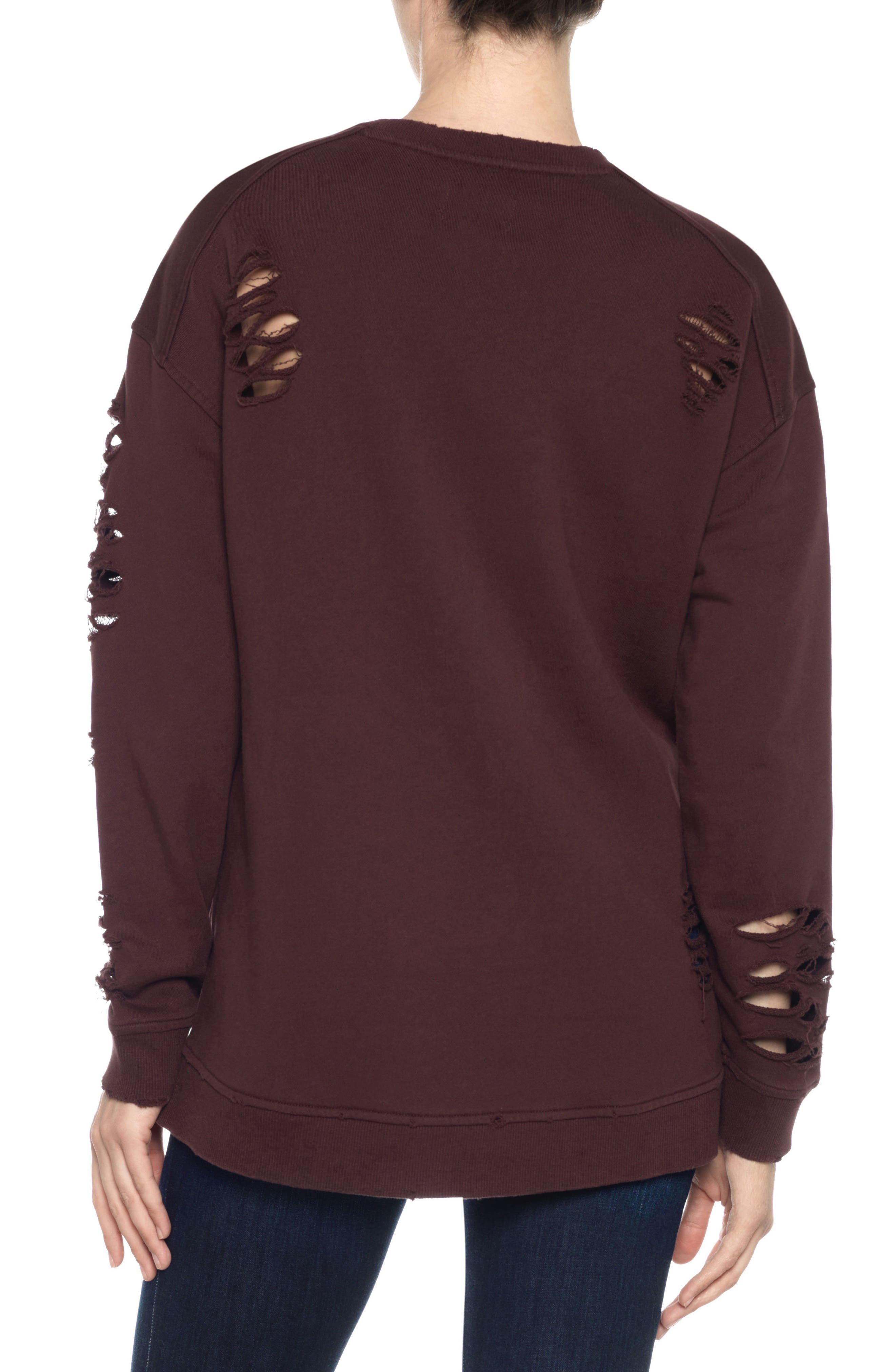 Lyndon Ripped Pullover,                             Alternate thumbnail 8, color,