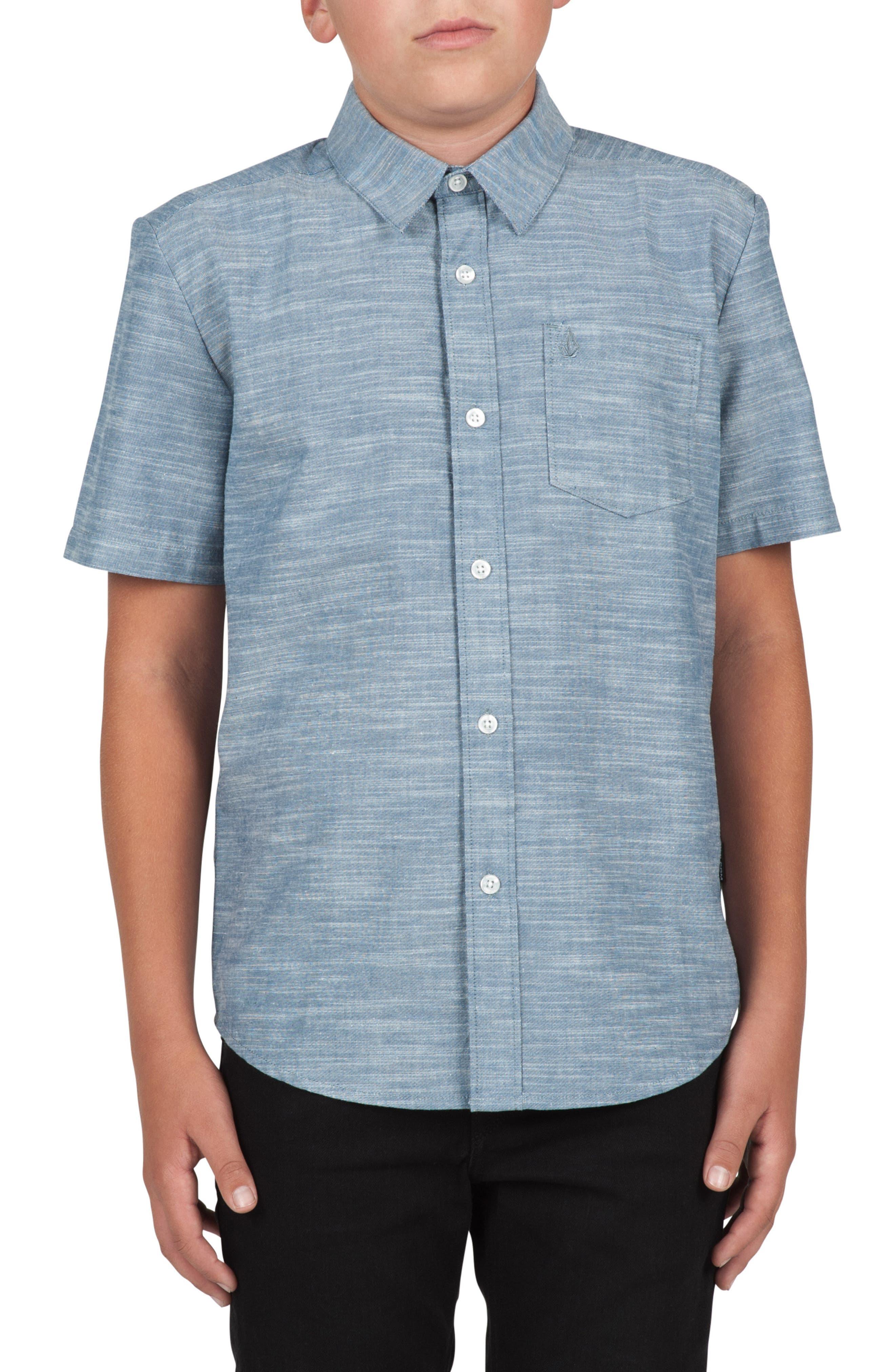 Everett Oxford Shirt,                             Main thumbnail 1, color,                             400