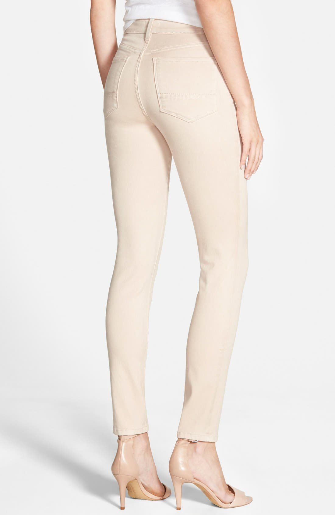 Alina Colored Stretch Skinny Jeans,                             Alternate thumbnail 84, color,