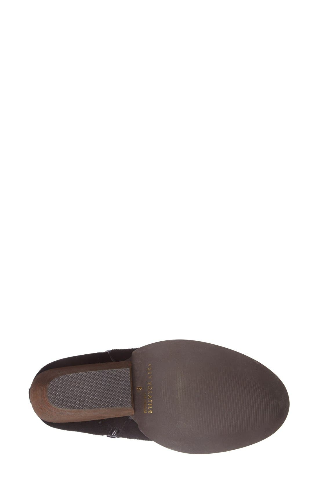 'Whitby' Demi Wedge Bootie,                             Alternate thumbnail 3, color,                             001