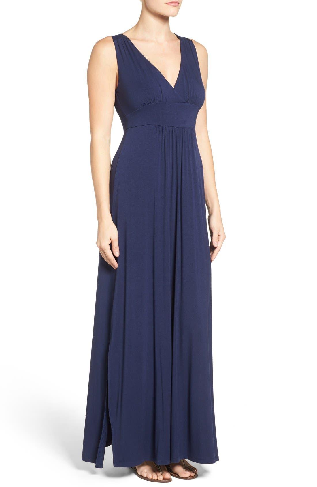 Knit Maxi Dress,                             Alternate thumbnail 39, color,