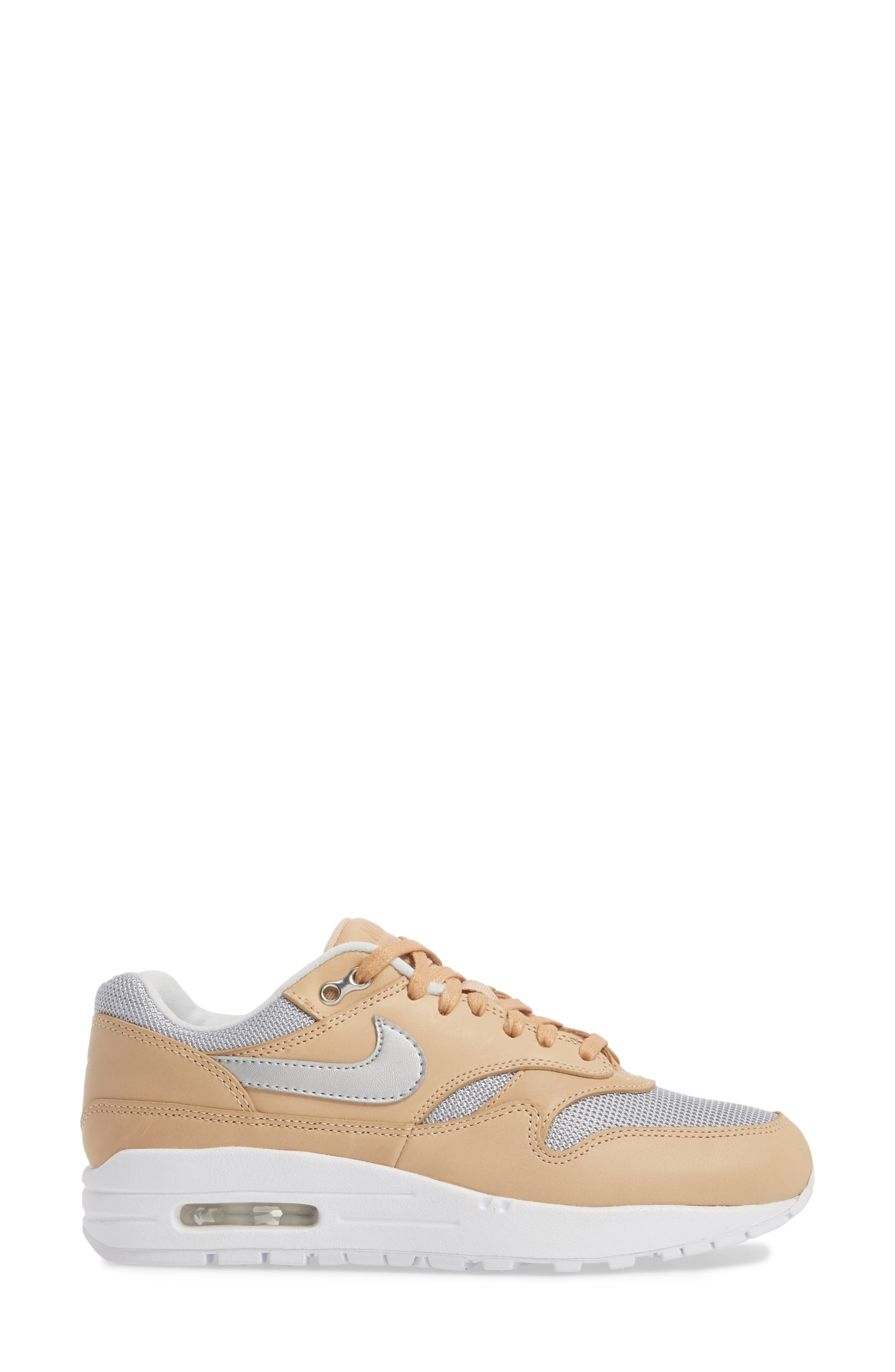 Air Max 1 SE Premium Sneaker,                             Alternate thumbnail 3, color,                             250