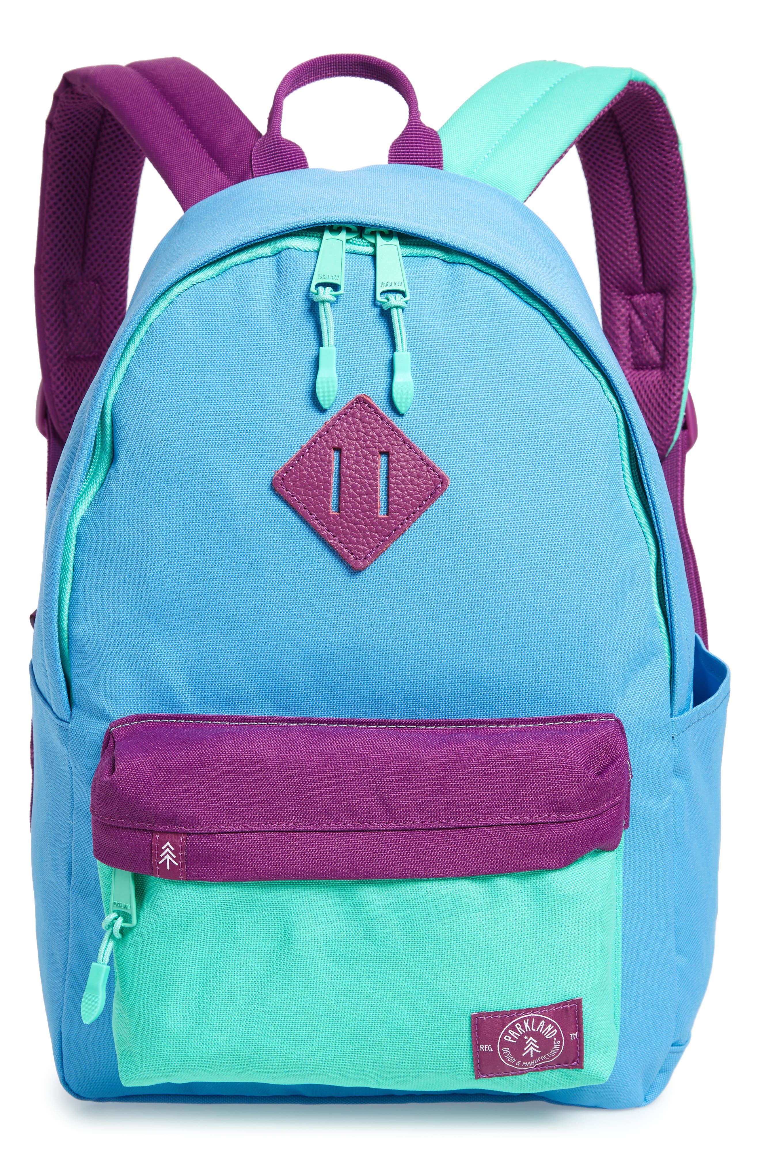 Bayside Smackers Backpack,                         Main,                         color, BLUE