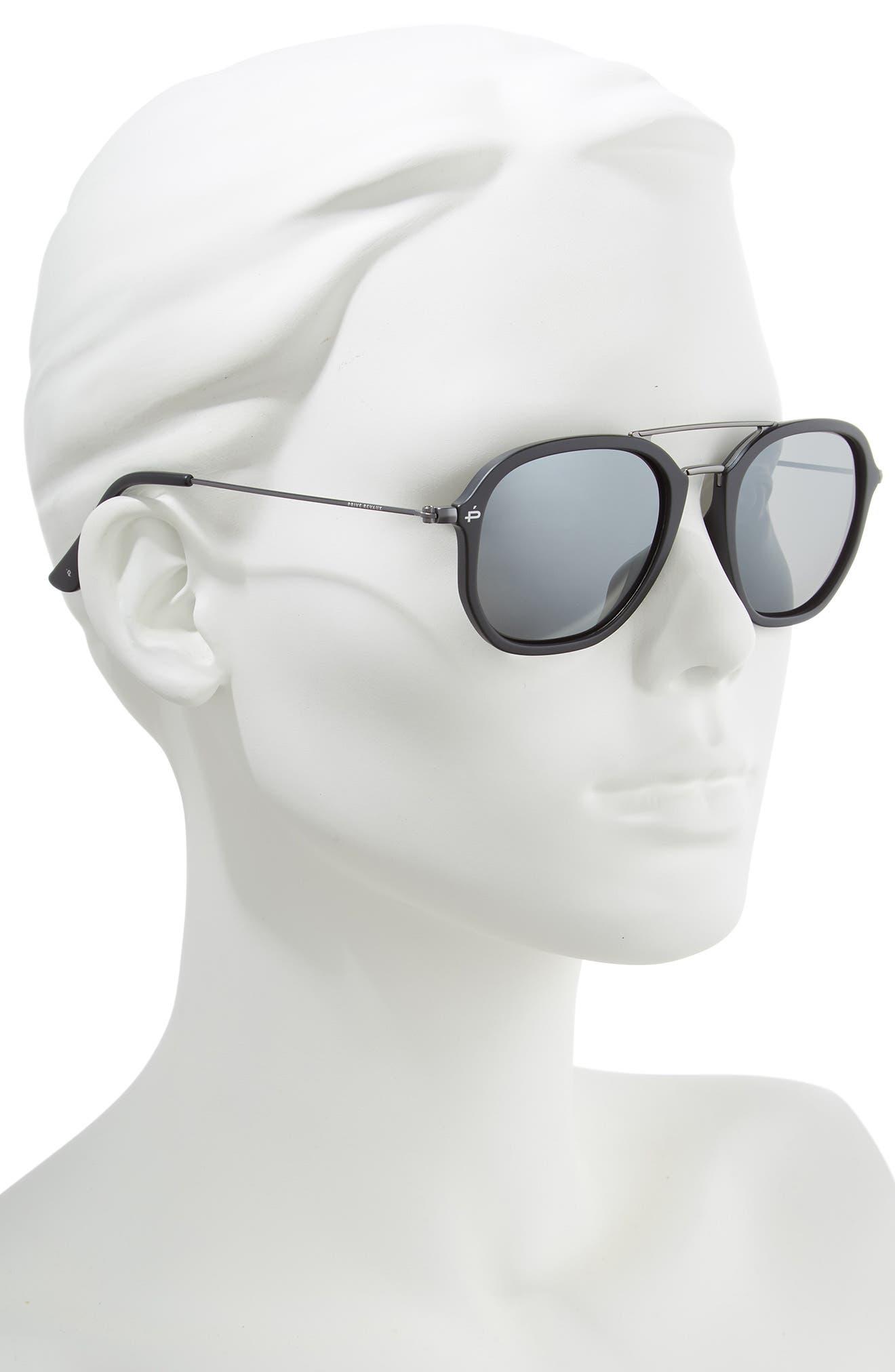 Privé Revaux The Dale Polarized 52mm Sunglasses,                             Alternate thumbnail 2, color,                             001