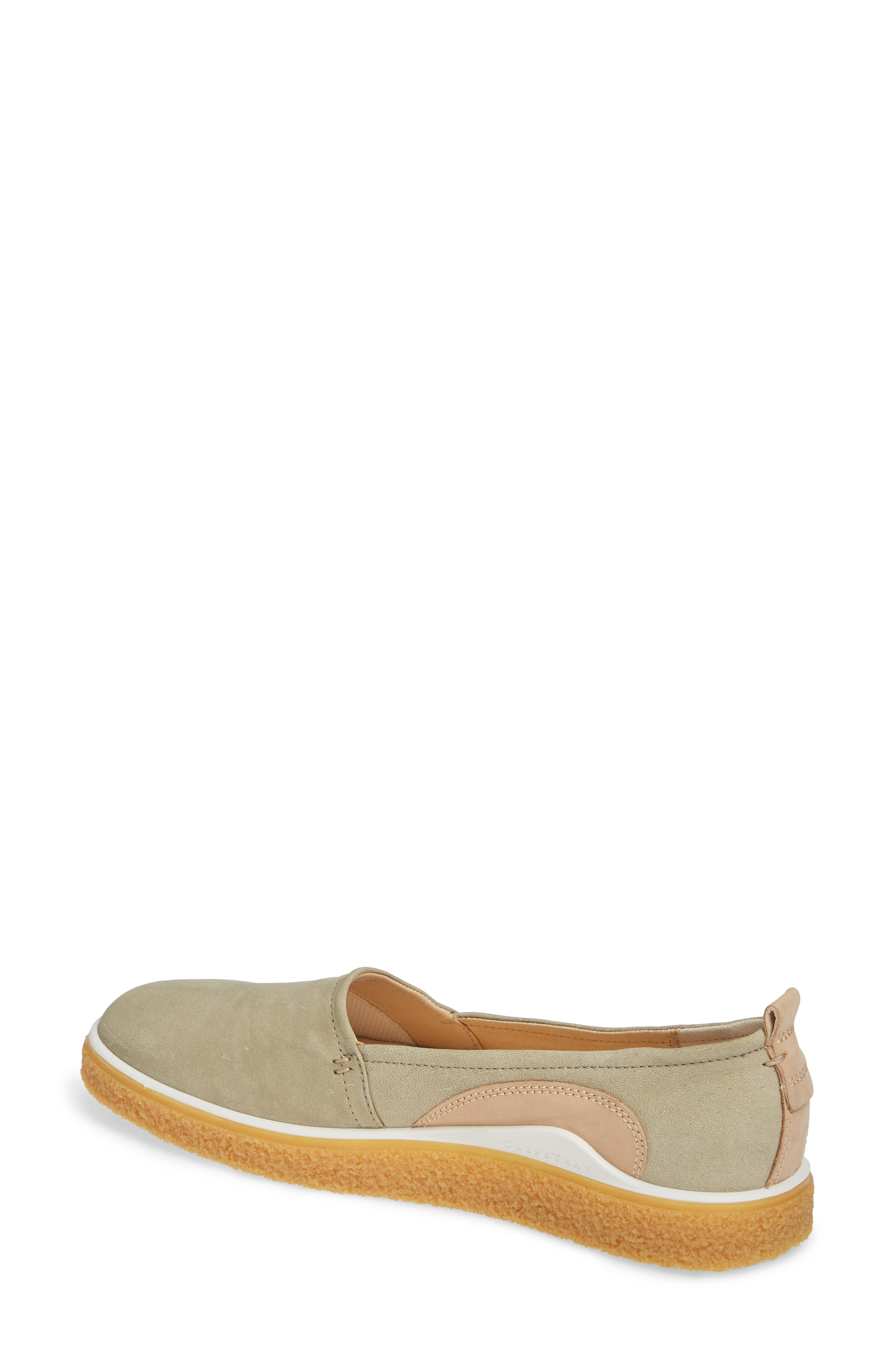 Crepetray Slip-On,                             Alternate thumbnail 2, color,                             SAGE LEATHER