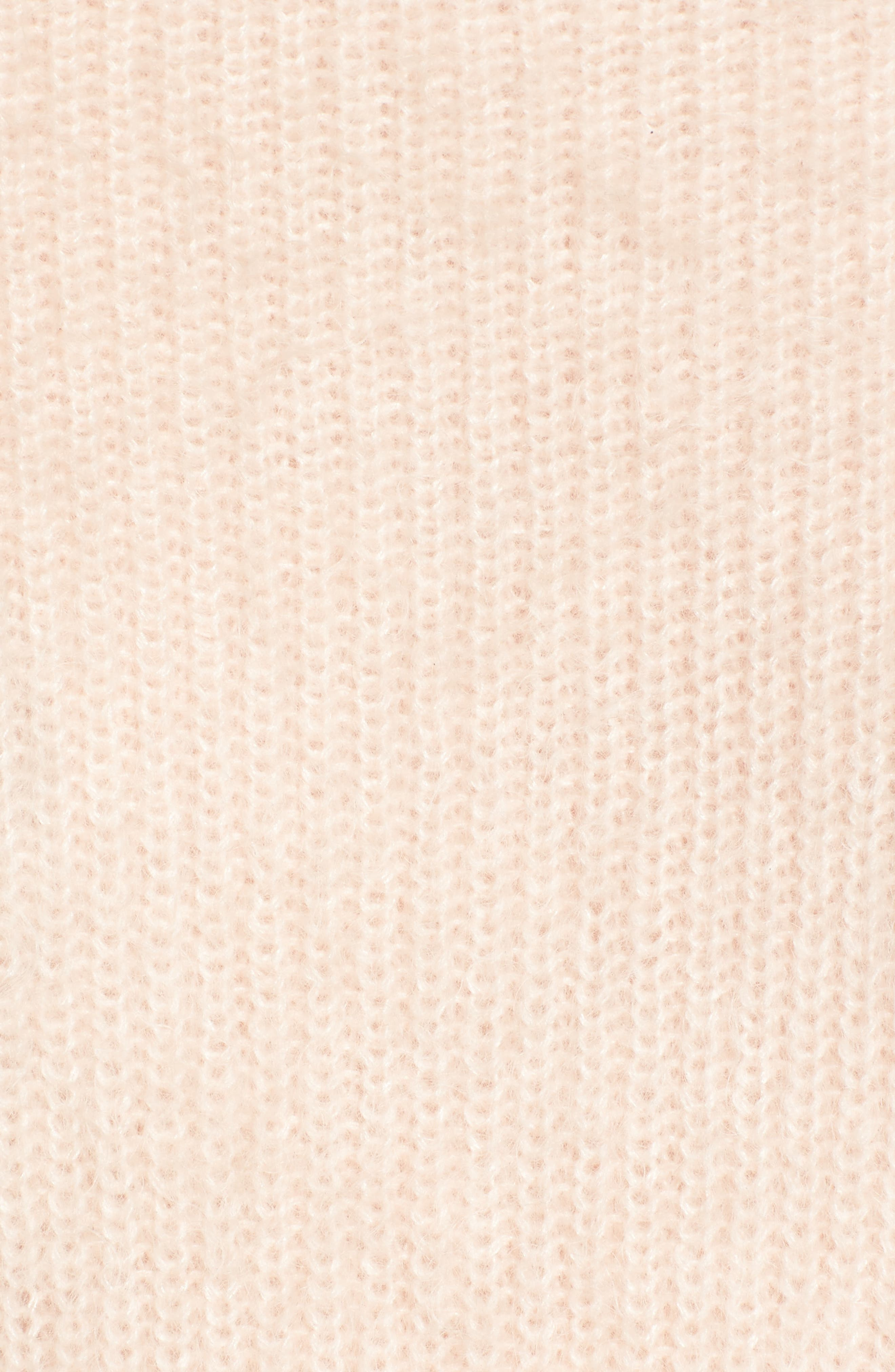 Poet Sleeve Sweater,                             Alternate thumbnail 5, color,