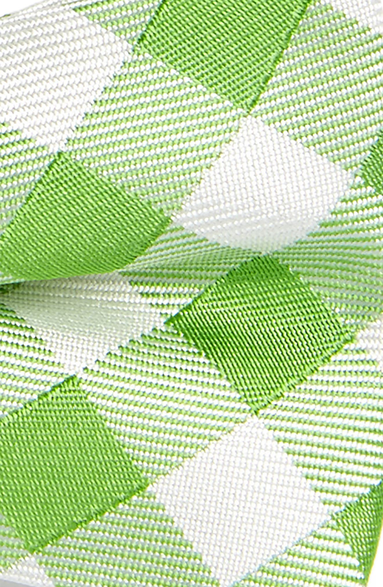 Plaid Silk Bow Tie,                             Alternate thumbnail 8, color,