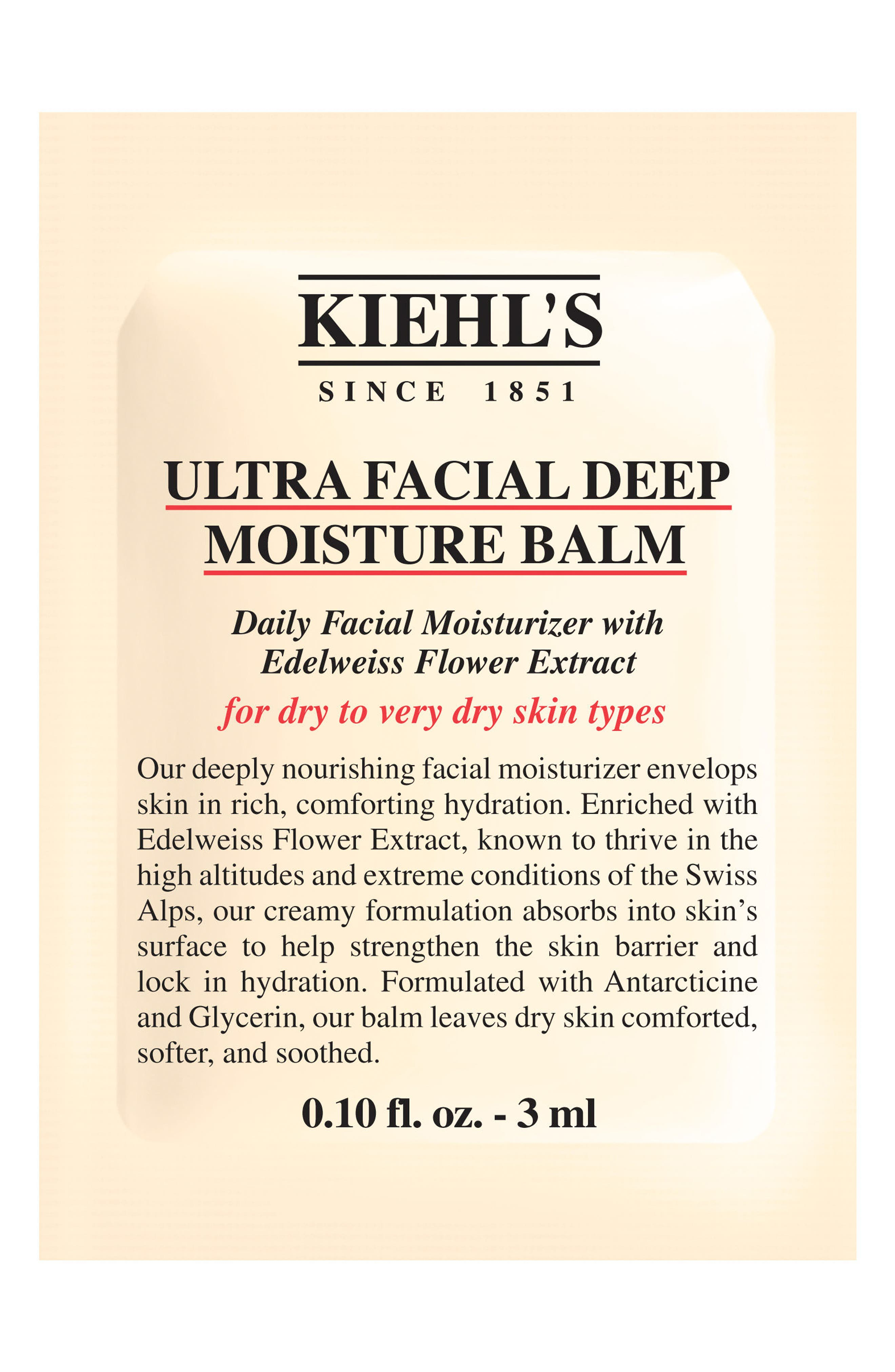 Ultra Facial Deep Moisture Balm for Drier Skin Types,                             Alternate thumbnail 2, color,                             NO COLOR
