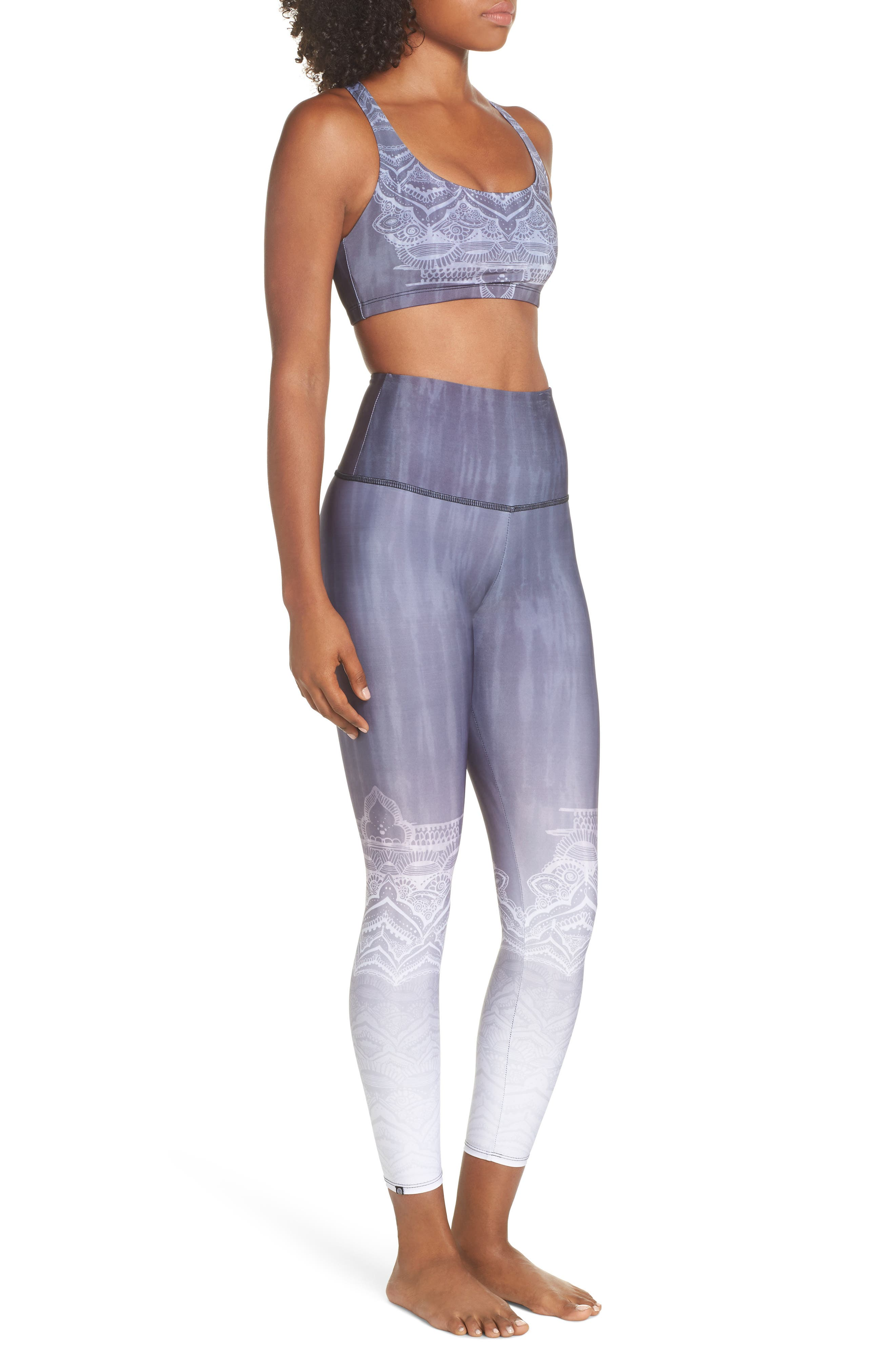 High Waist Leggings,                             Alternate thumbnail 10, color,                             SACRED