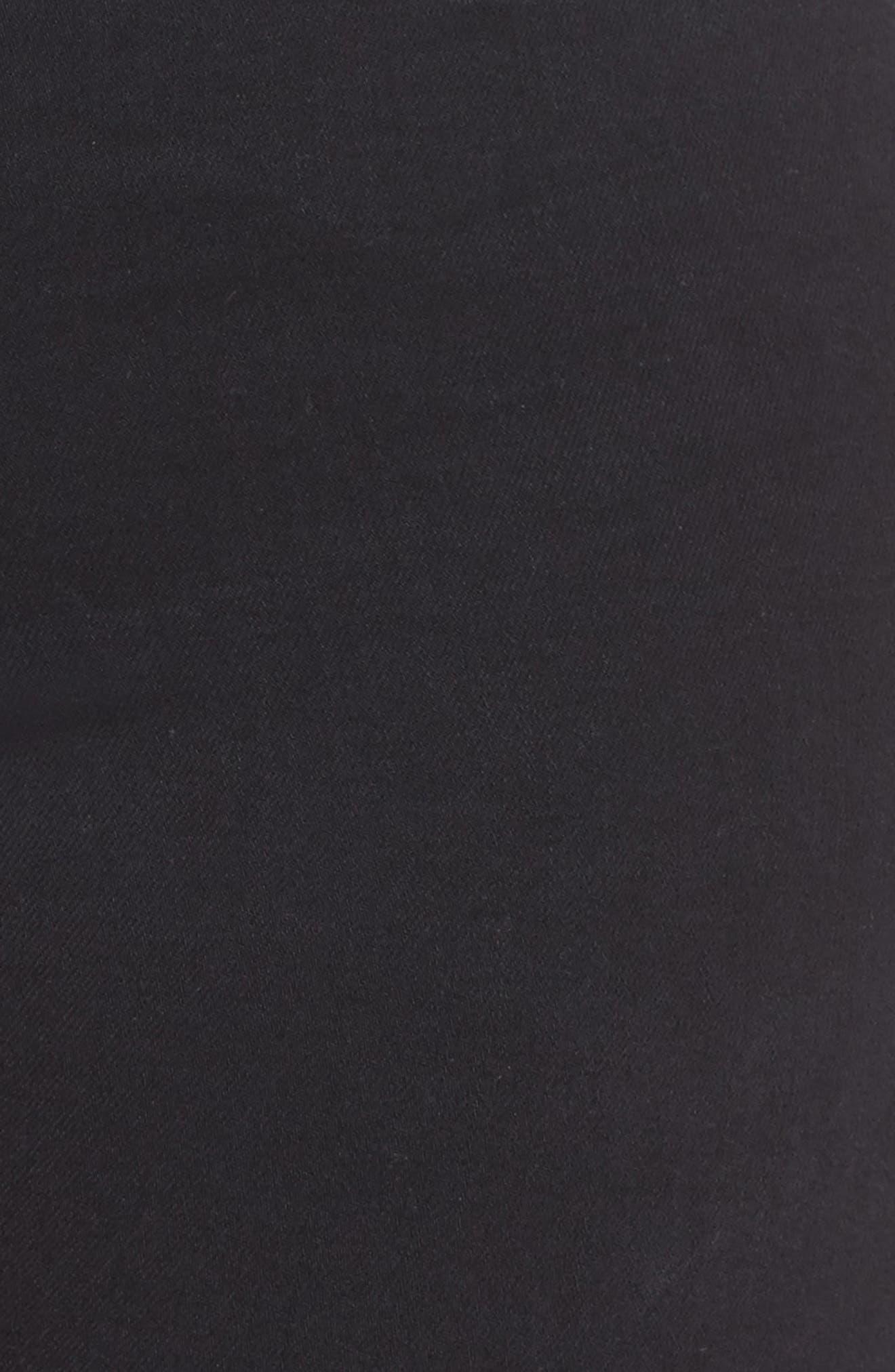 Good Waist High Rise Skinny Jeans,                             Alternate thumbnail 12, color,                             BLACK 004