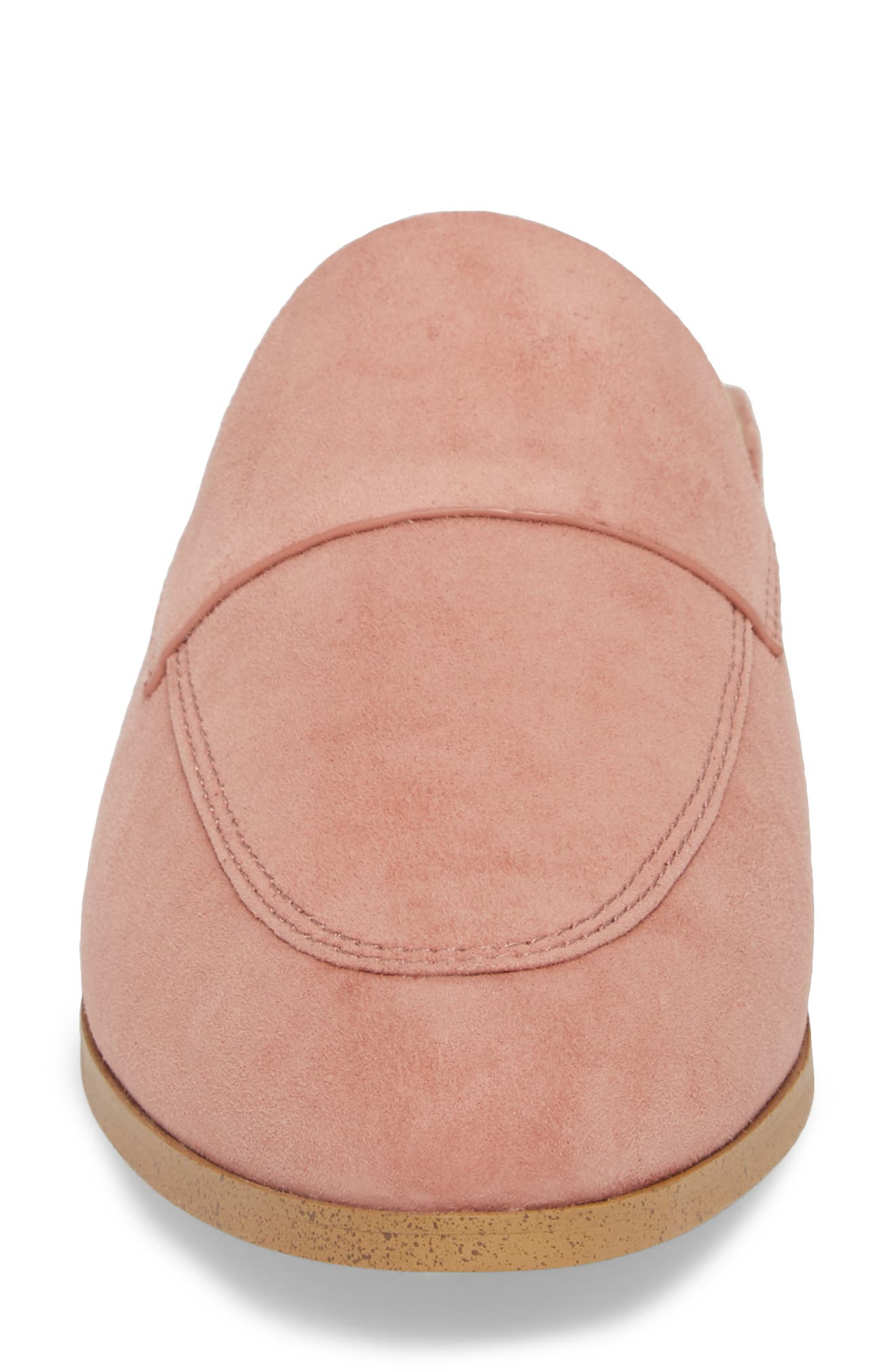 Nima Loafer Mule,                             Alternate thumbnail 4, color,                             ROSE TAUPE SUEDE