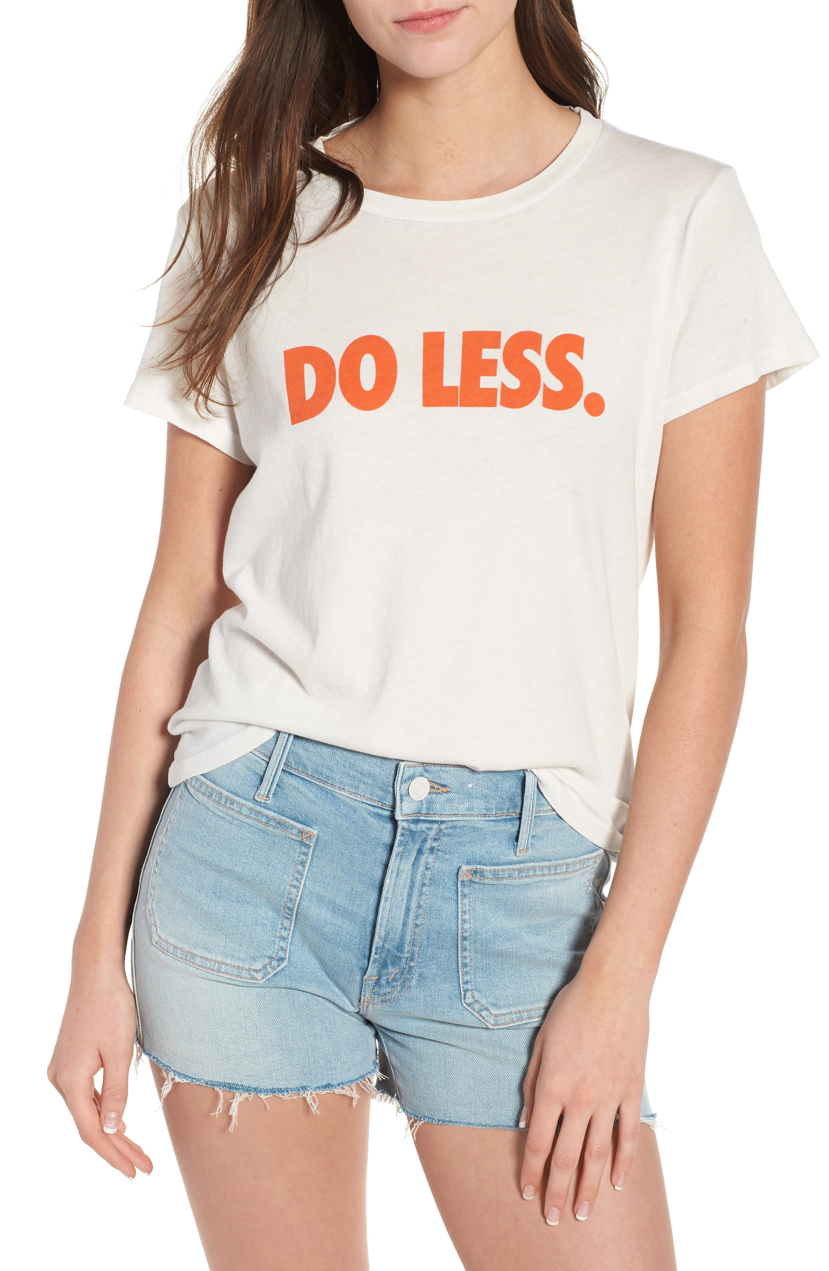 'The Boxy Goodie Goodie' Cotton Graphic Tee,                         Main,                         color, 106