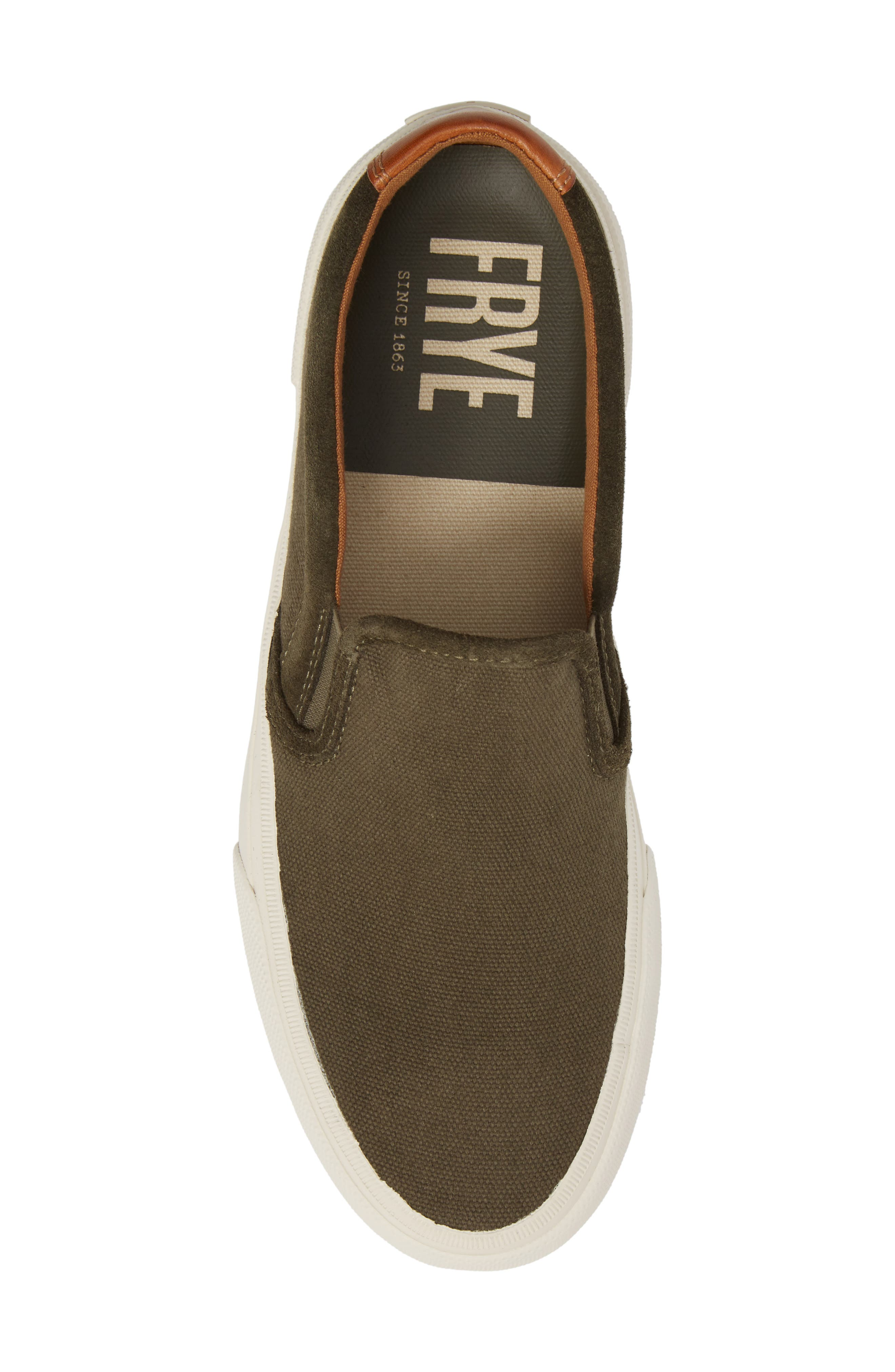 Ludlow Slip-On,                             Alternate thumbnail 5, color,                             OLIVE CANVAS