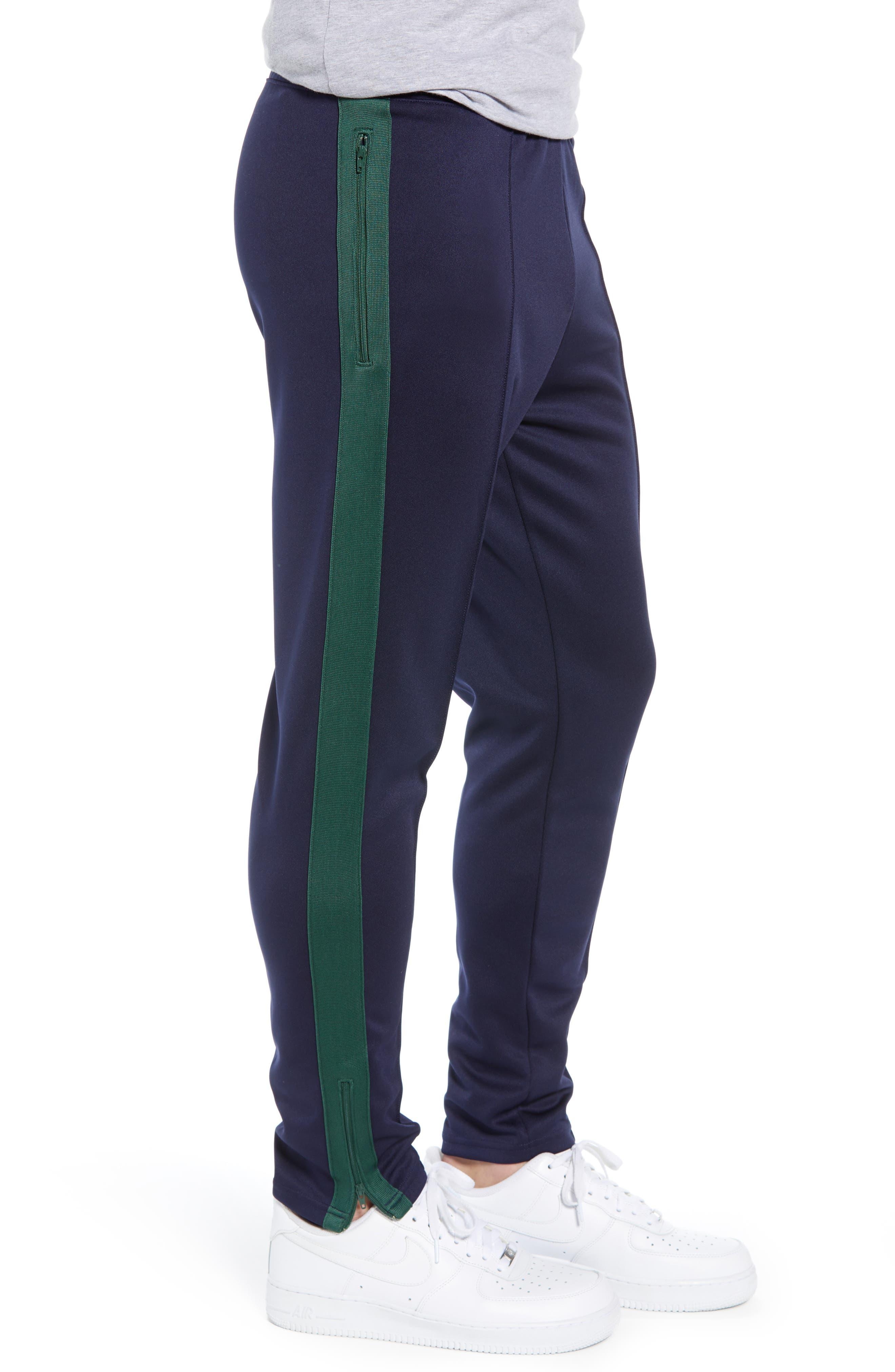 NIKE,                             x Martine Rose Men's Track Pants,                             Alternate thumbnail 3, color,                             BLACKENED BLUE/ FIR