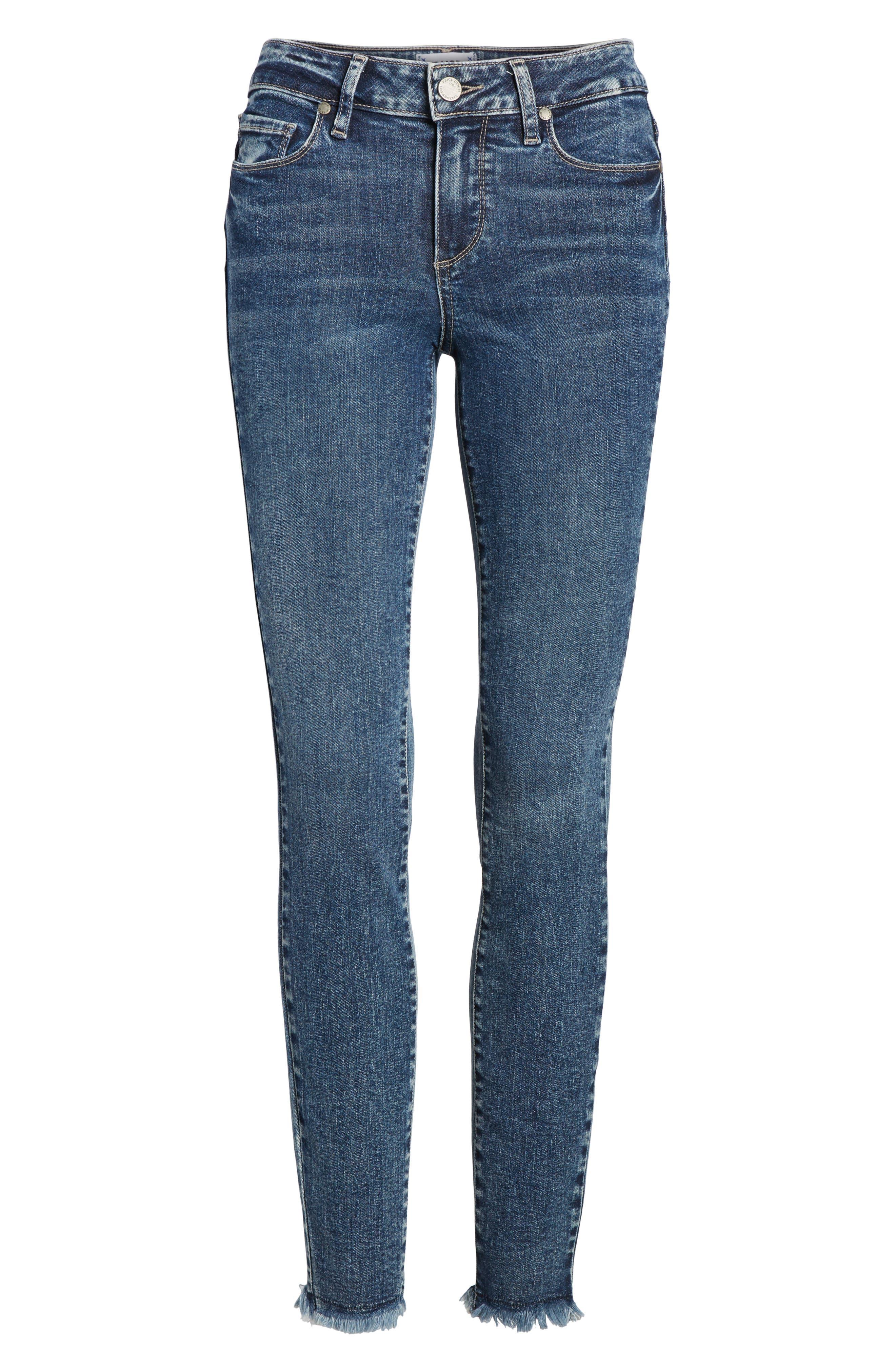 Transcend Vintage - Verdugo Ultra Skinny Jeans,                             Alternate thumbnail 7, color,                             400