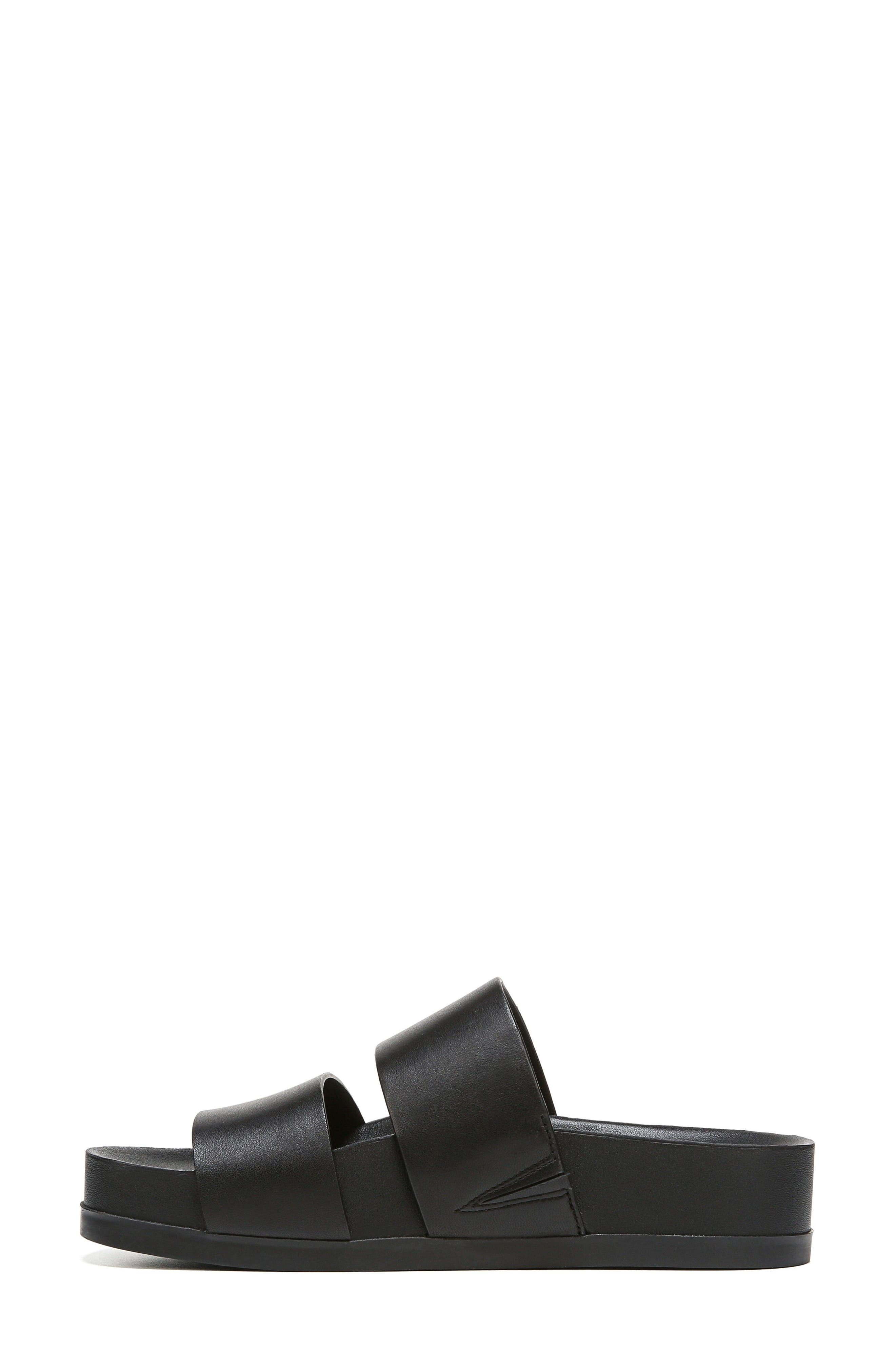 VIA SPIGA,                             Milton Slide Sandal,                             Alternate thumbnail 3, color,                             001