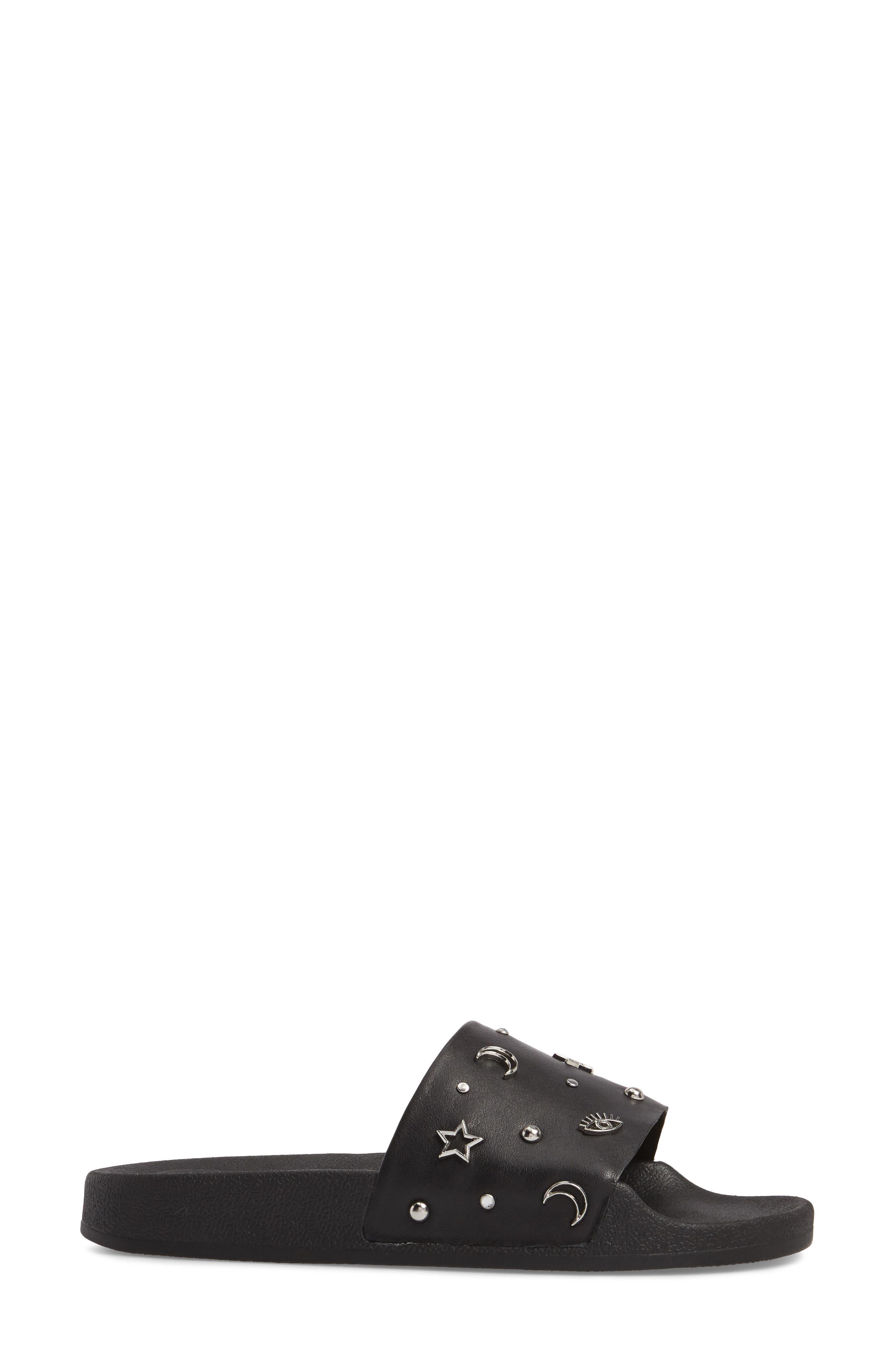 Thunder Slide Sandal,                             Alternate thumbnail 3, color,                             001