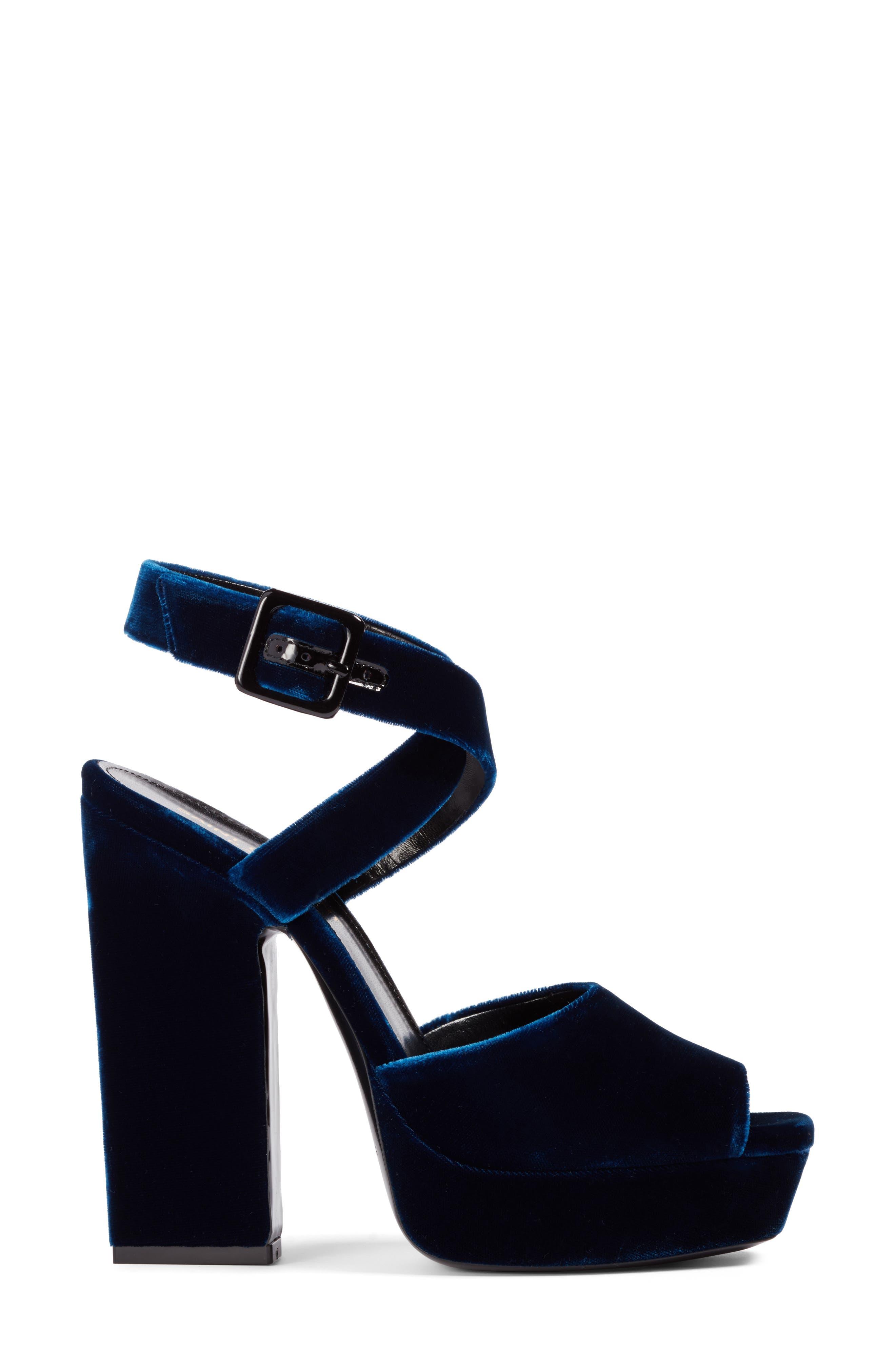 Debbie Platform Sandal,                             Alternate thumbnail 3, color,                             400