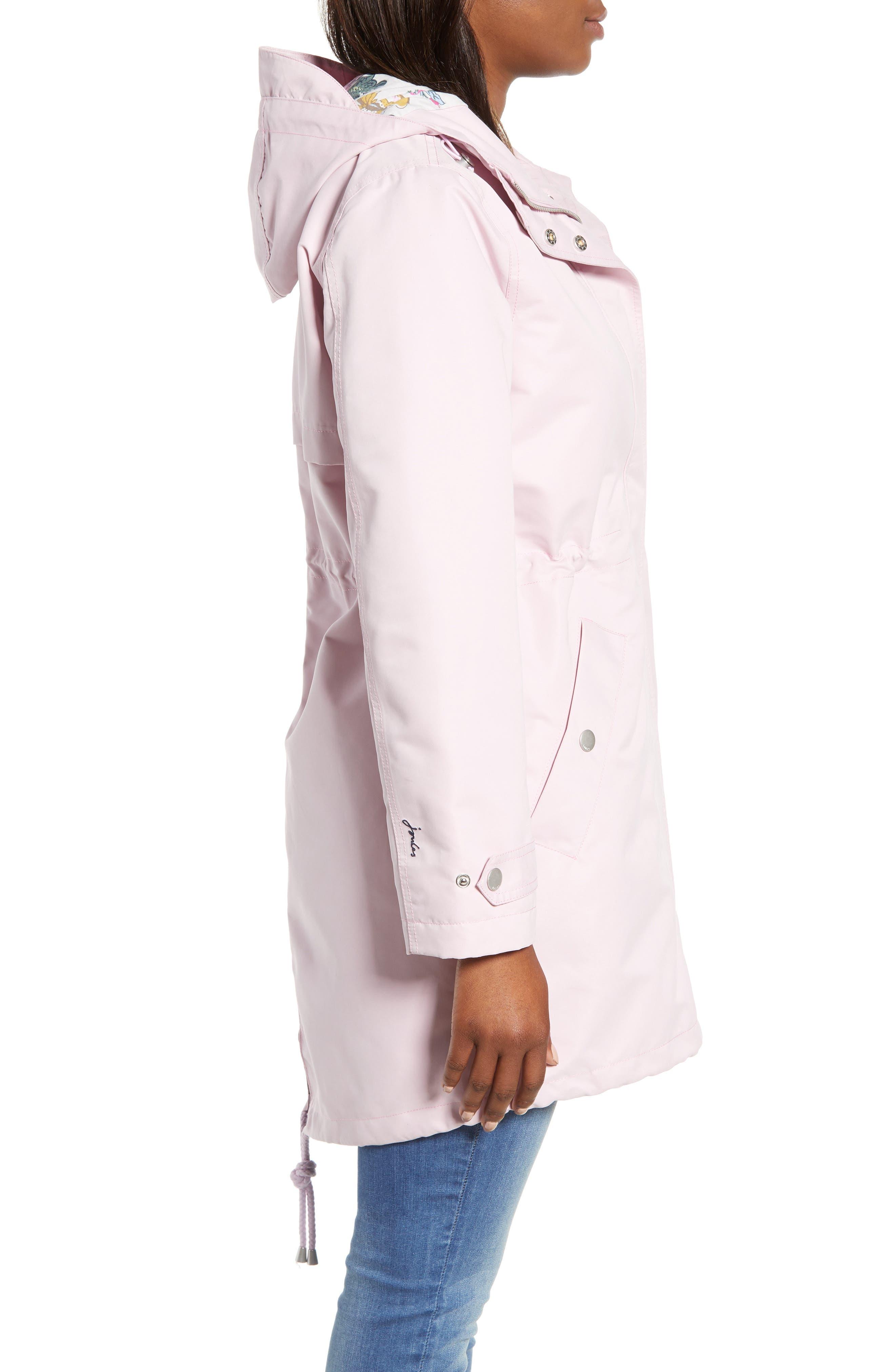 Right as Rain Long Line Hooded Waterproof Raincoat,                             Alternate thumbnail 3, color,                             531