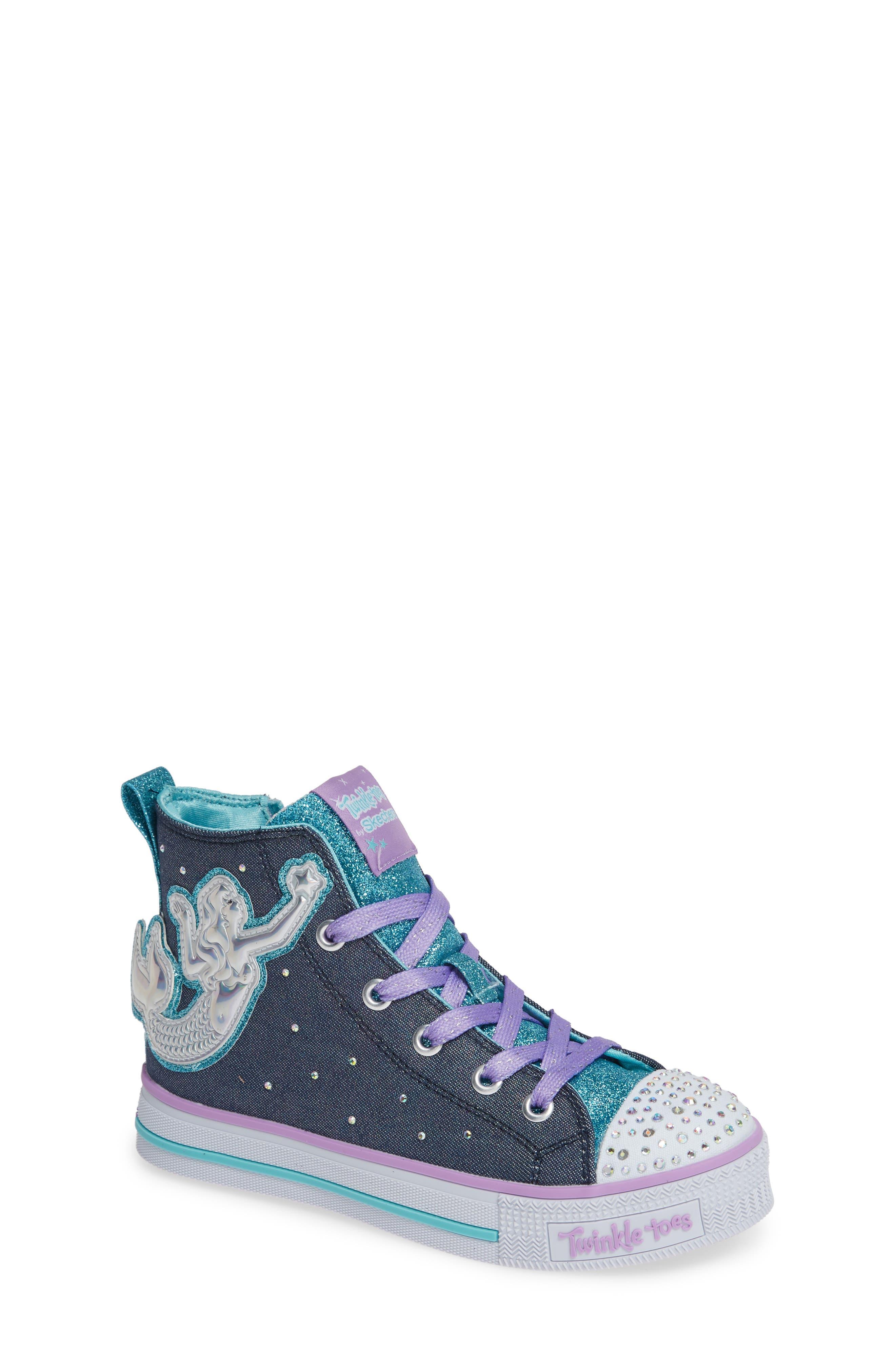 Twinkle Lite Glitter Sneaker,                         Main,                         color, 468