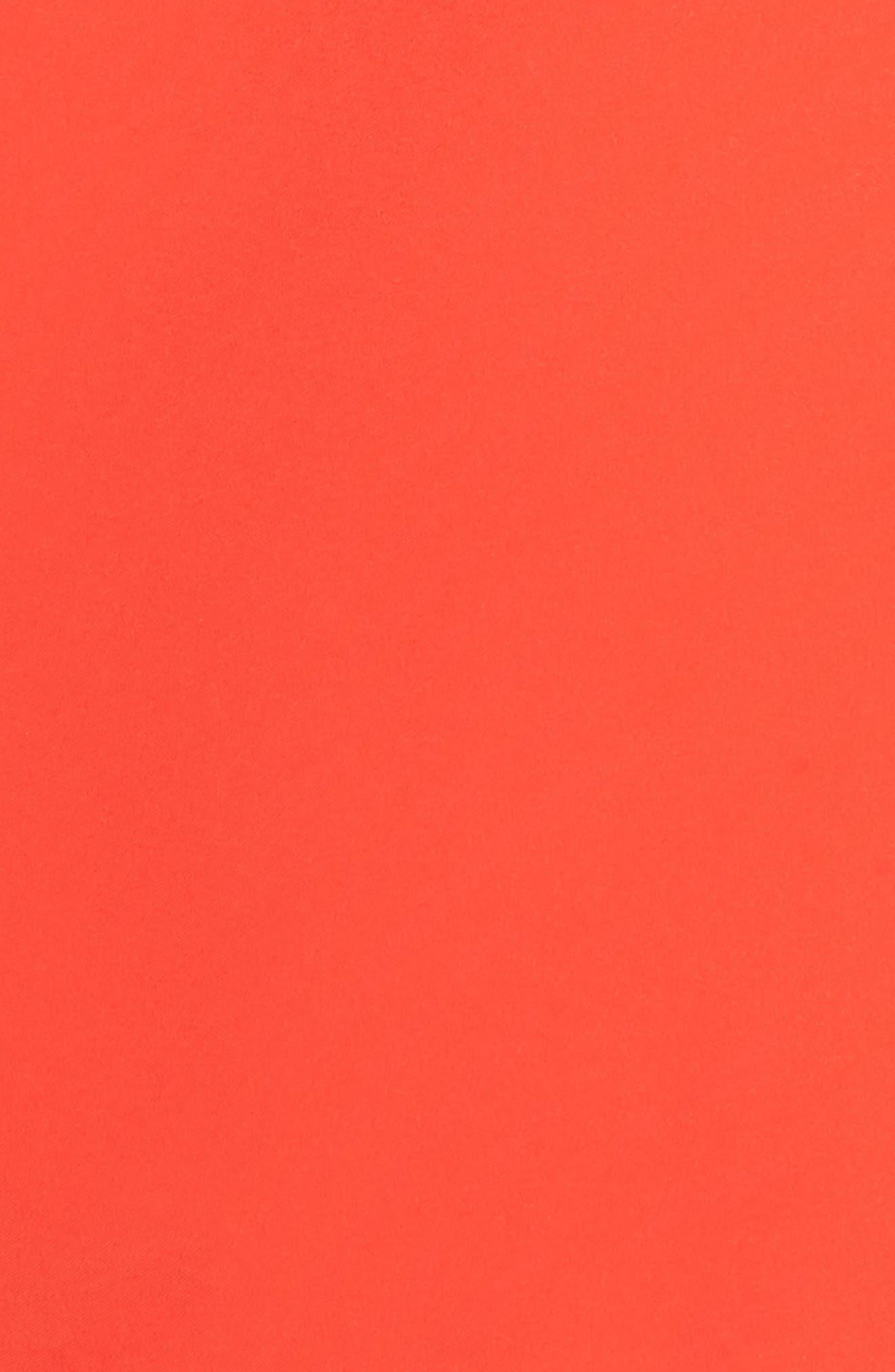 'Dryzzle' Hooded Jacket,                             Alternate thumbnail 7, color,                             JUICY RED
