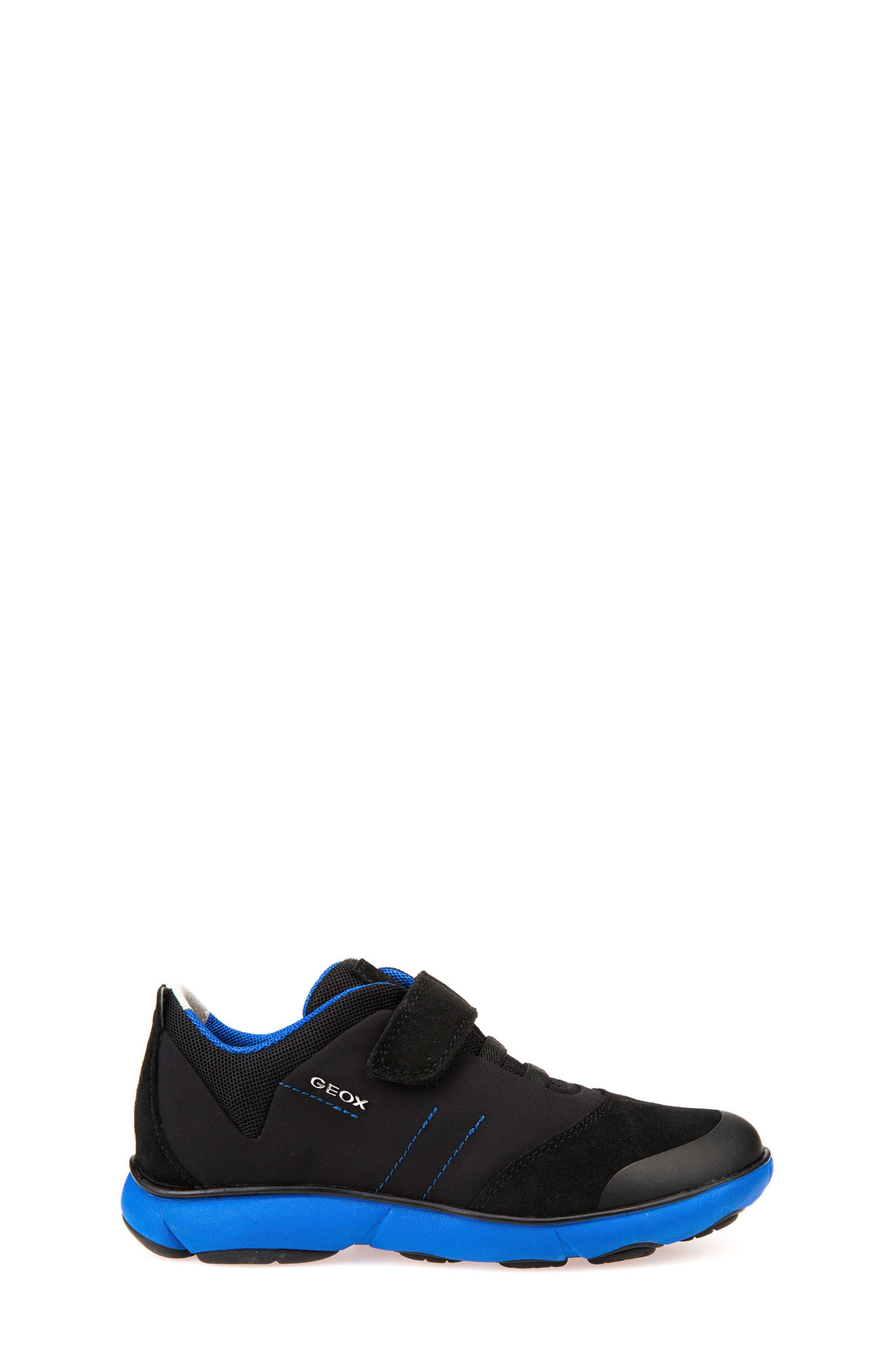 GEOX,                             Nebula Low Top Sneaker,                             Alternate thumbnail 3, color,                             009