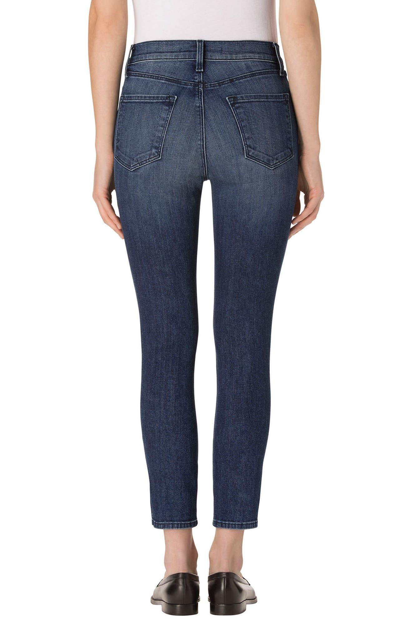 Alana High Waist Crop Skinny Jeans,                             Alternate thumbnail 2, color,                             403