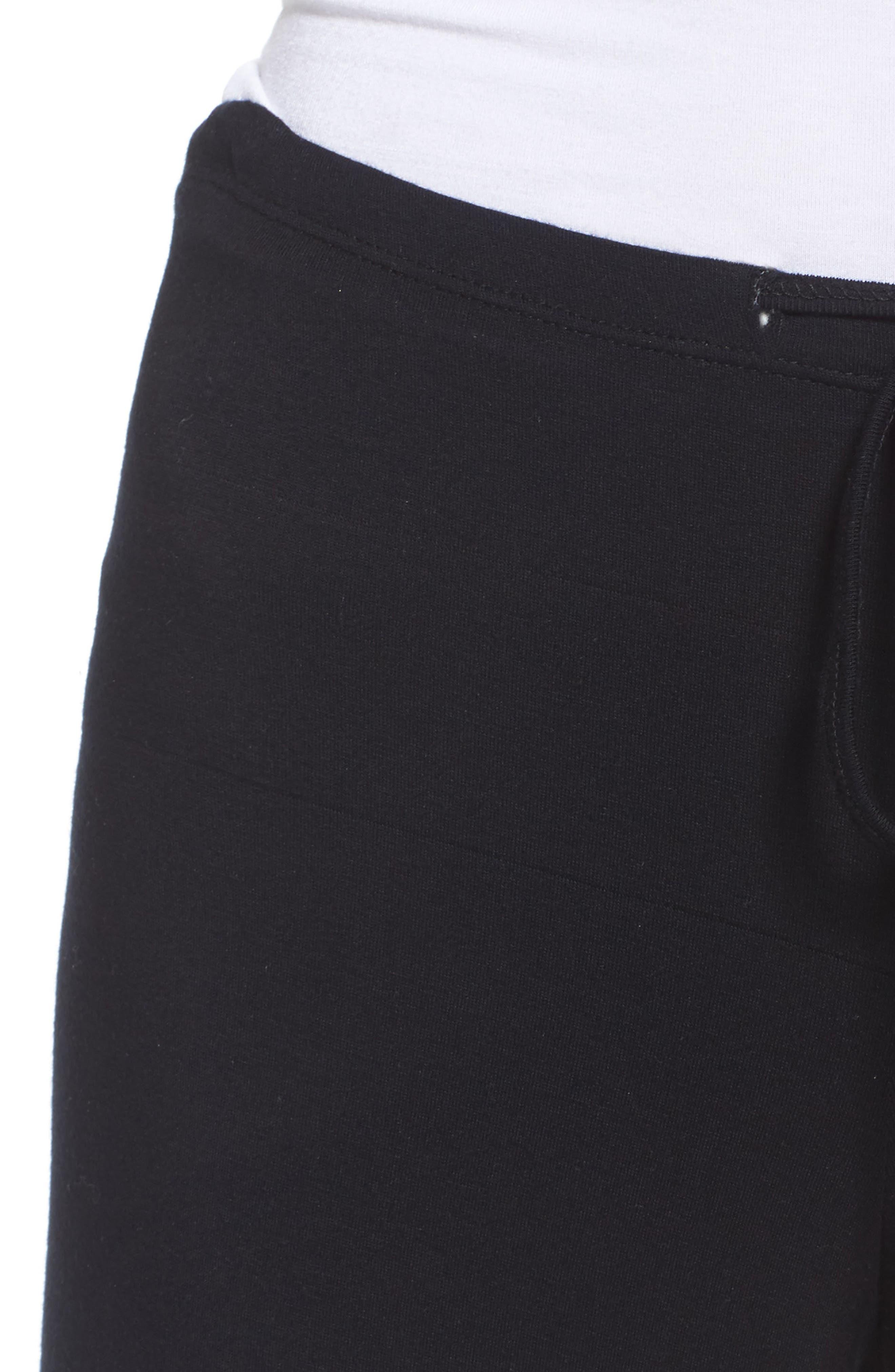Golden Wide Leg Pants,                             Alternate thumbnail 4, color,                             001