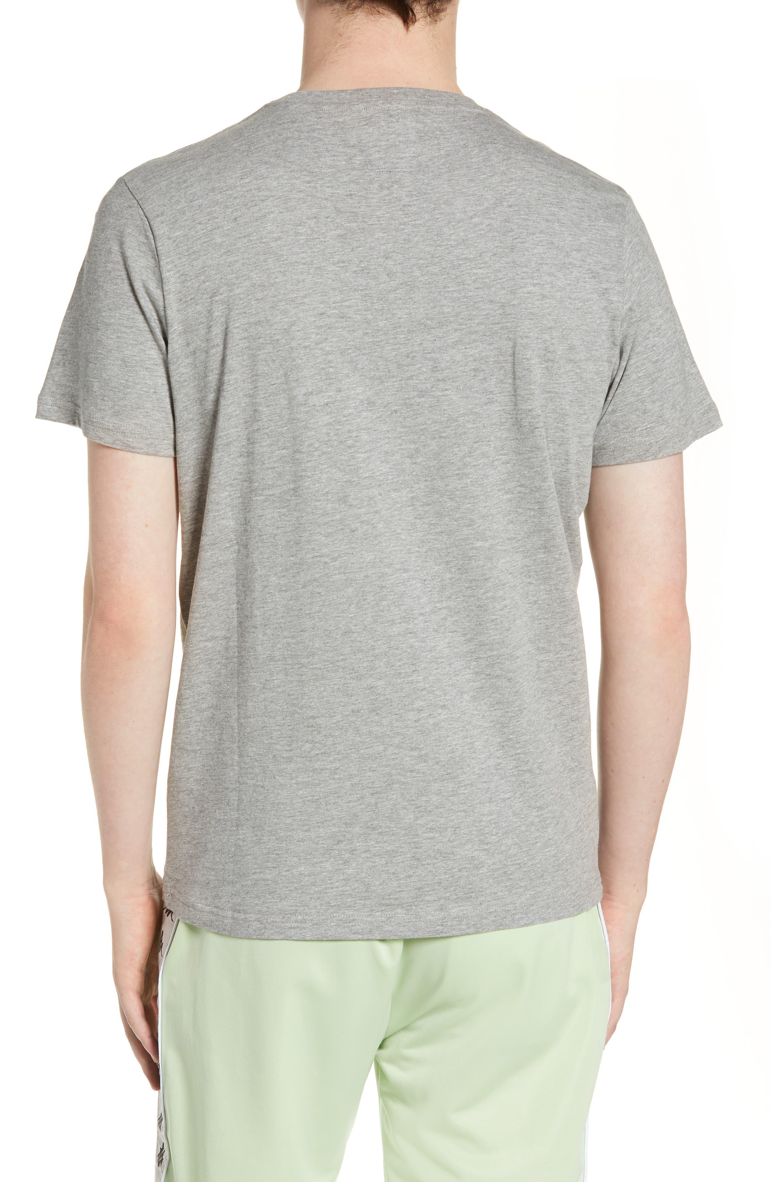 KAPPA,                             Estessi Graphic T-Shirt,                             Alternate thumbnail 2, color,                             HEATHER GREY