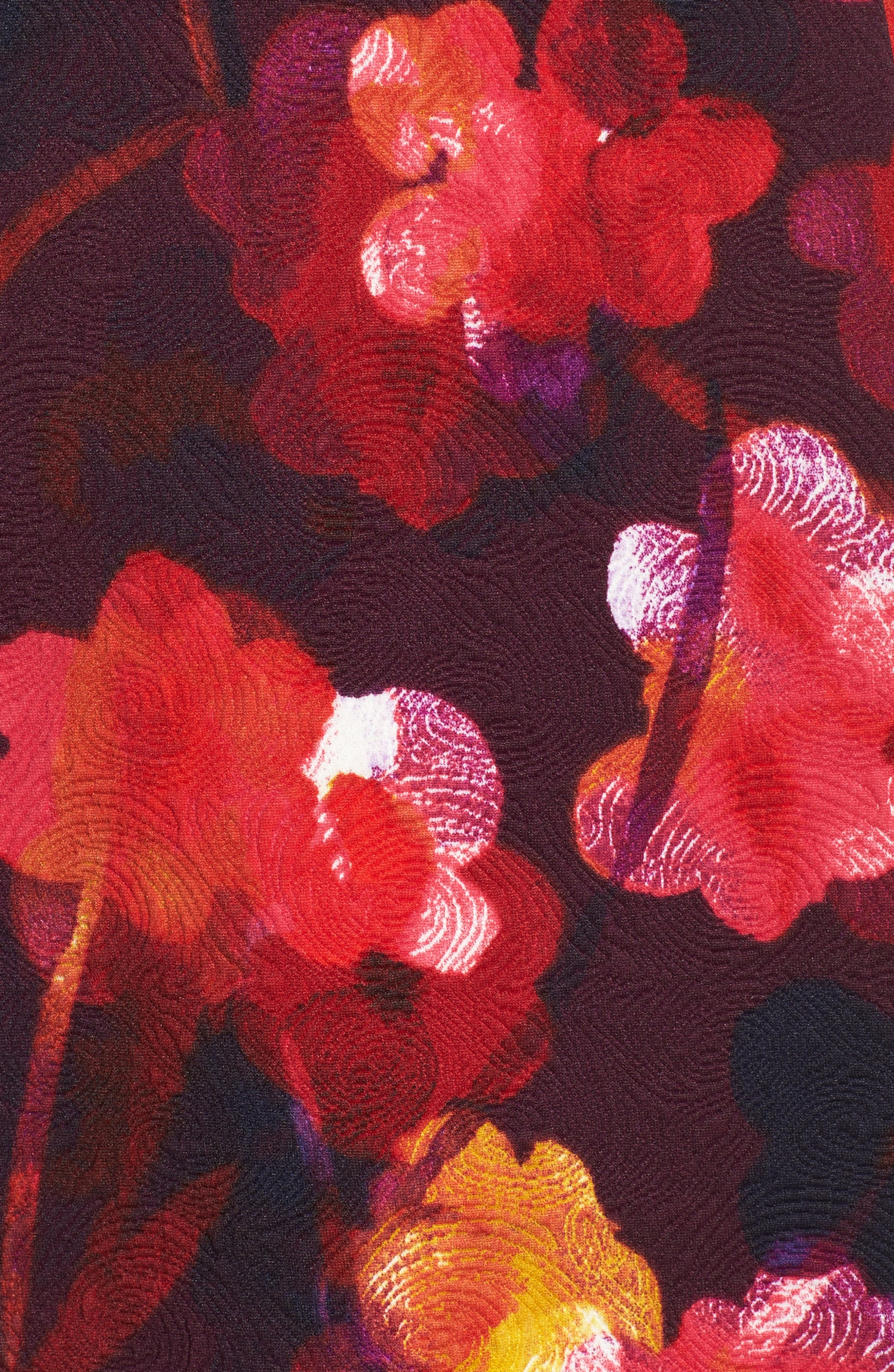 Fit & Flare Dress,                             Alternate thumbnail 5, color,                             646
