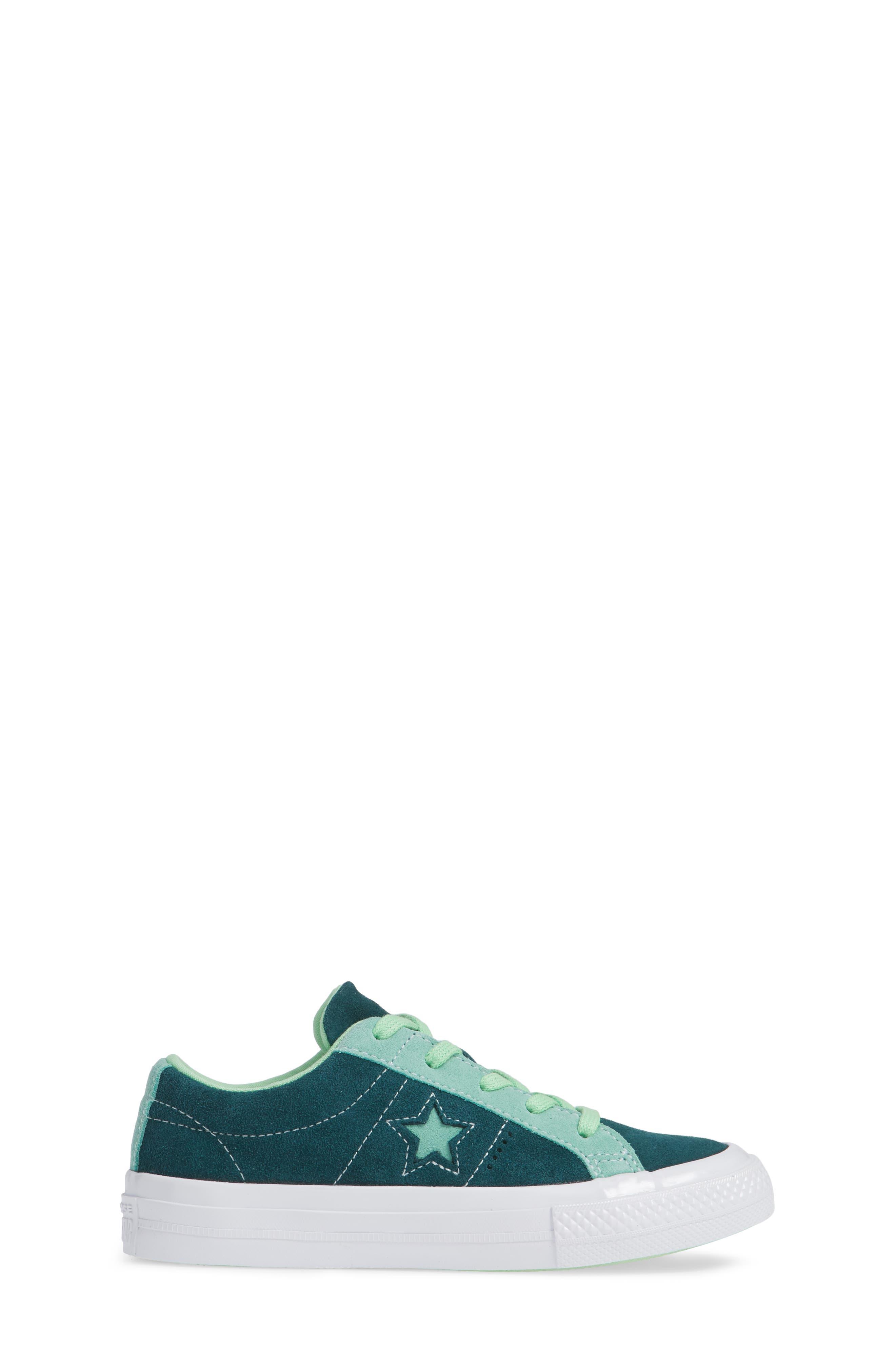 One Star Carnival Low Top Sneaker,                             Alternate thumbnail 3, color,                             345