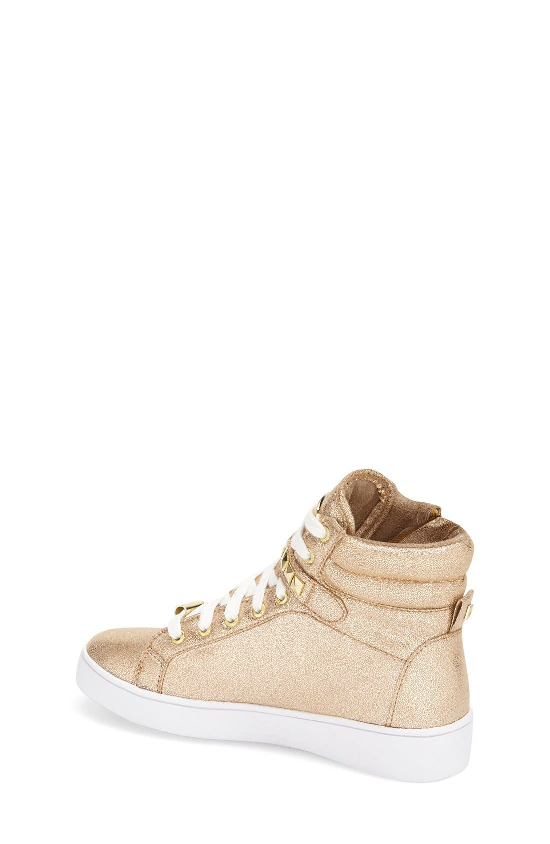 'Ivy Rory' High Top Sneaker,                             Alternate thumbnail 8, color,