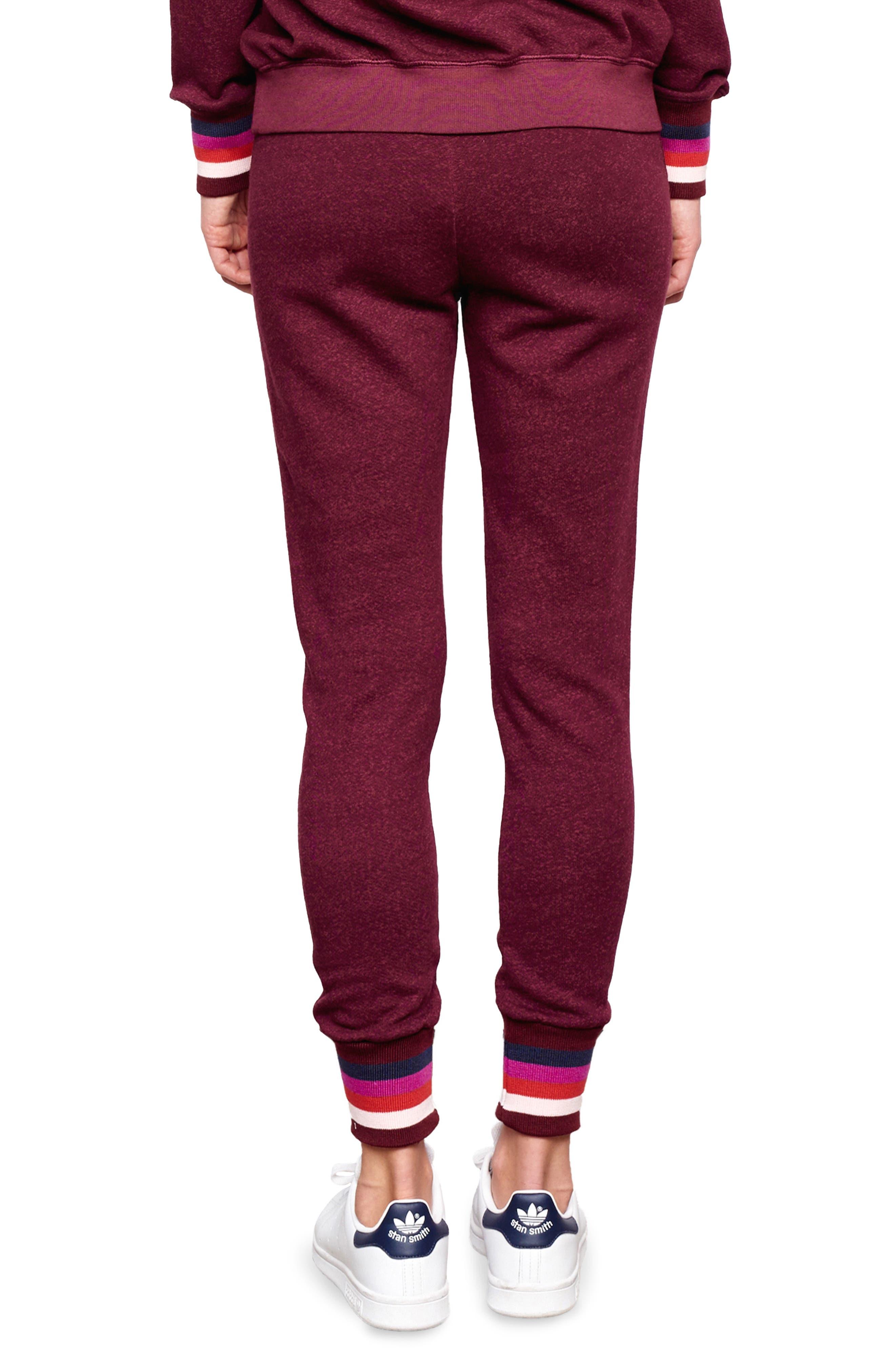 Stripe Cuff Sweatpants,                             Alternate thumbnail 2, color,                             930