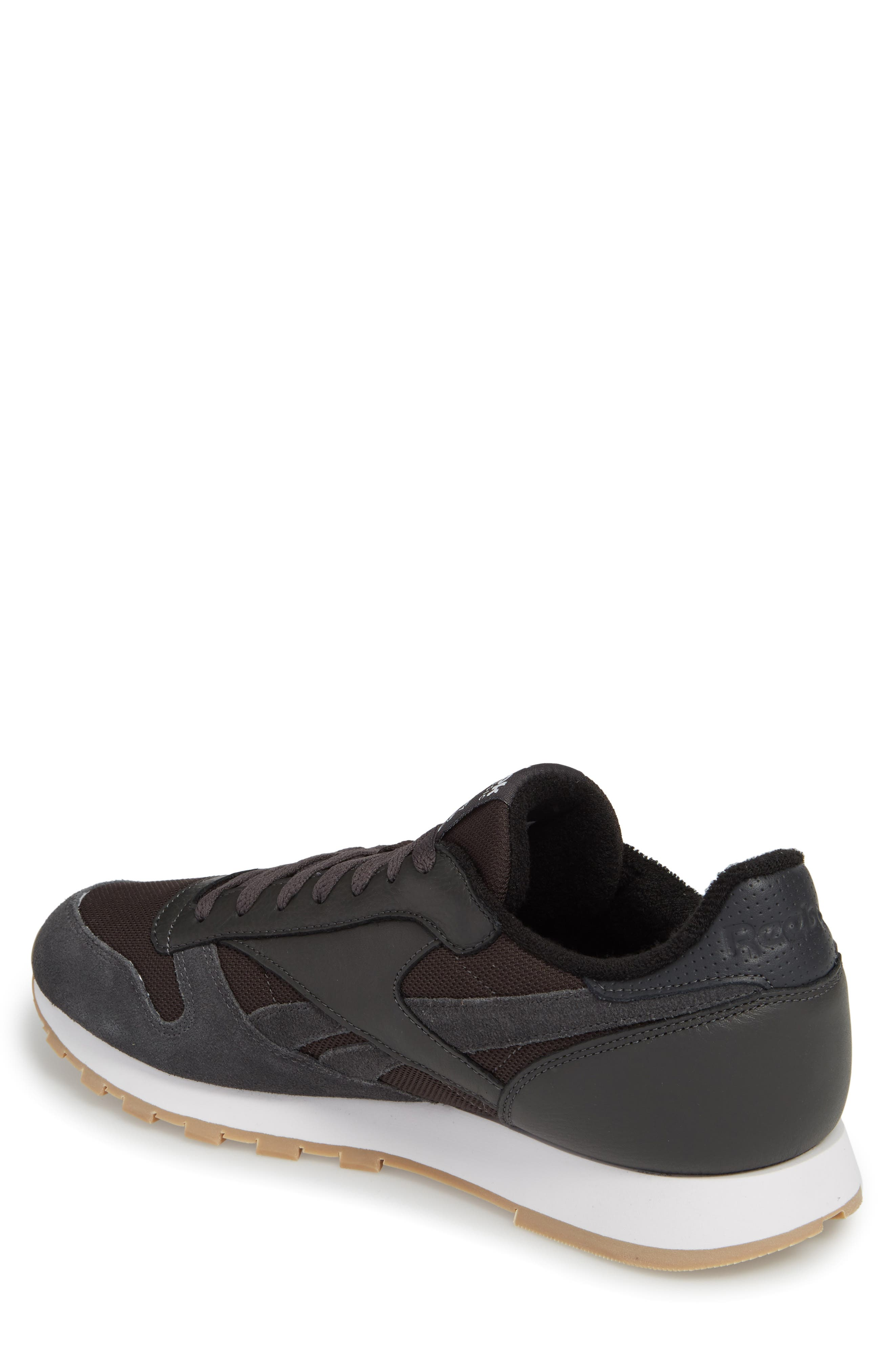 ESTL Classic Leather Sneaker,                             Alternate thumbnail 2, color,                             001