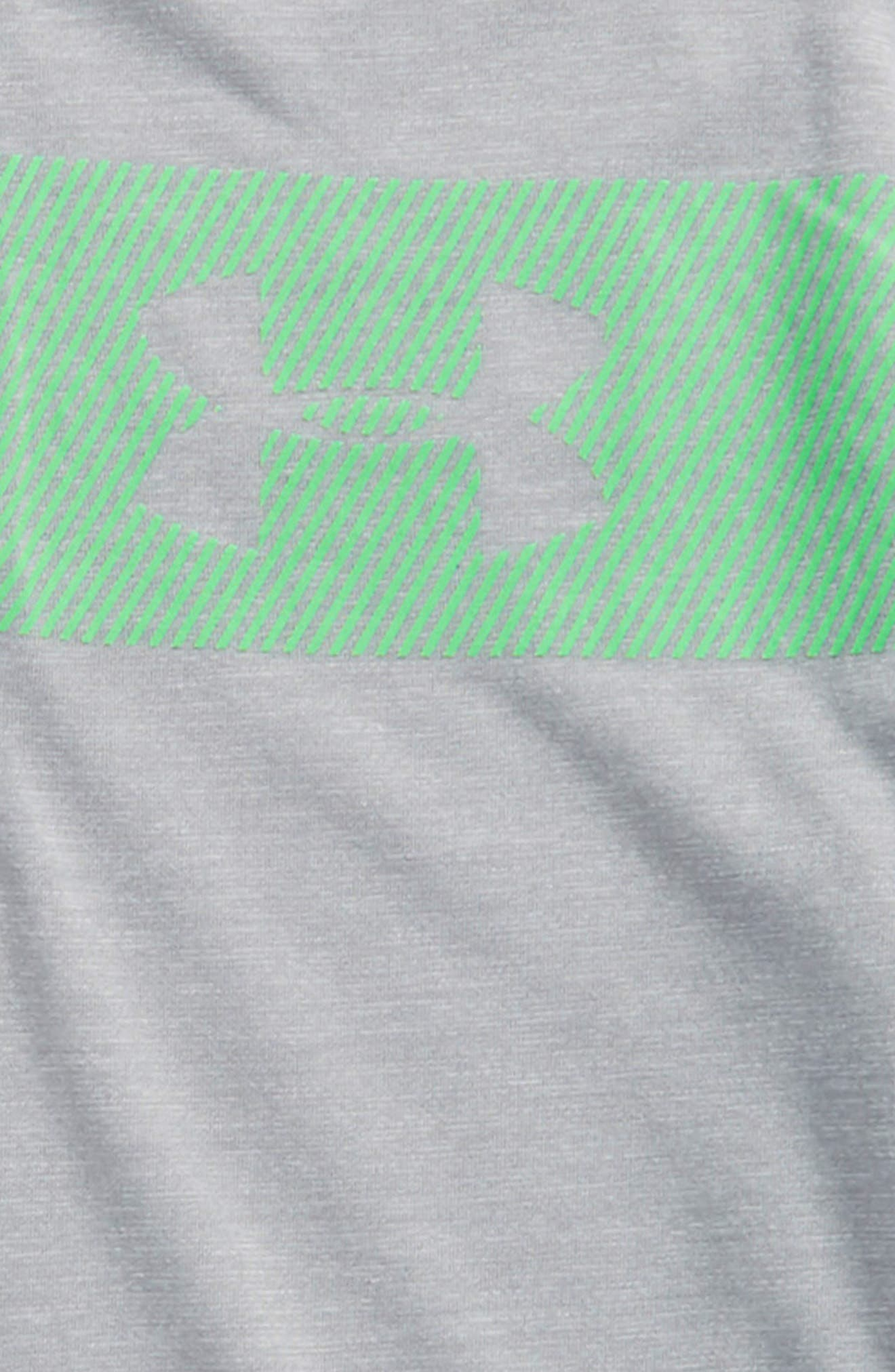 Threadborne HeatGear<sup>®</sup> Quarter Zip Pullover,                             Alternate thumbnail 2, color,