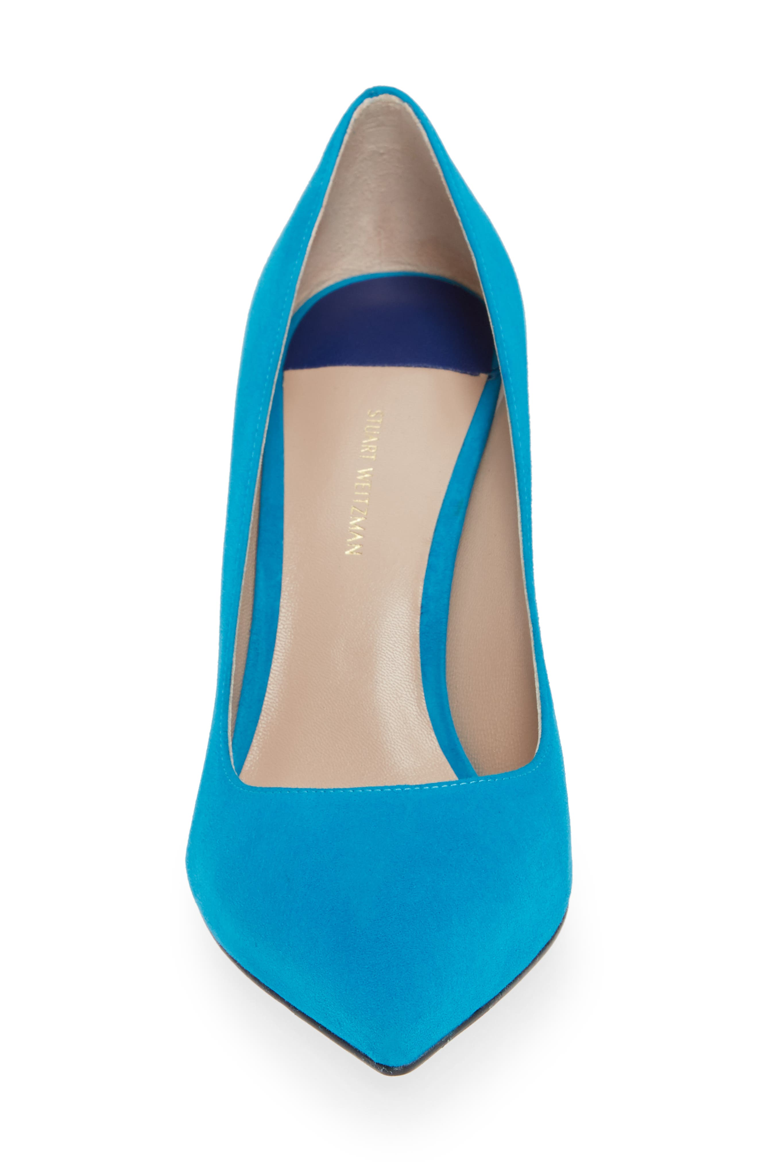Tippi Pump,                             Alternate thumbnail 4, color,                             OCEANIC SUEDE