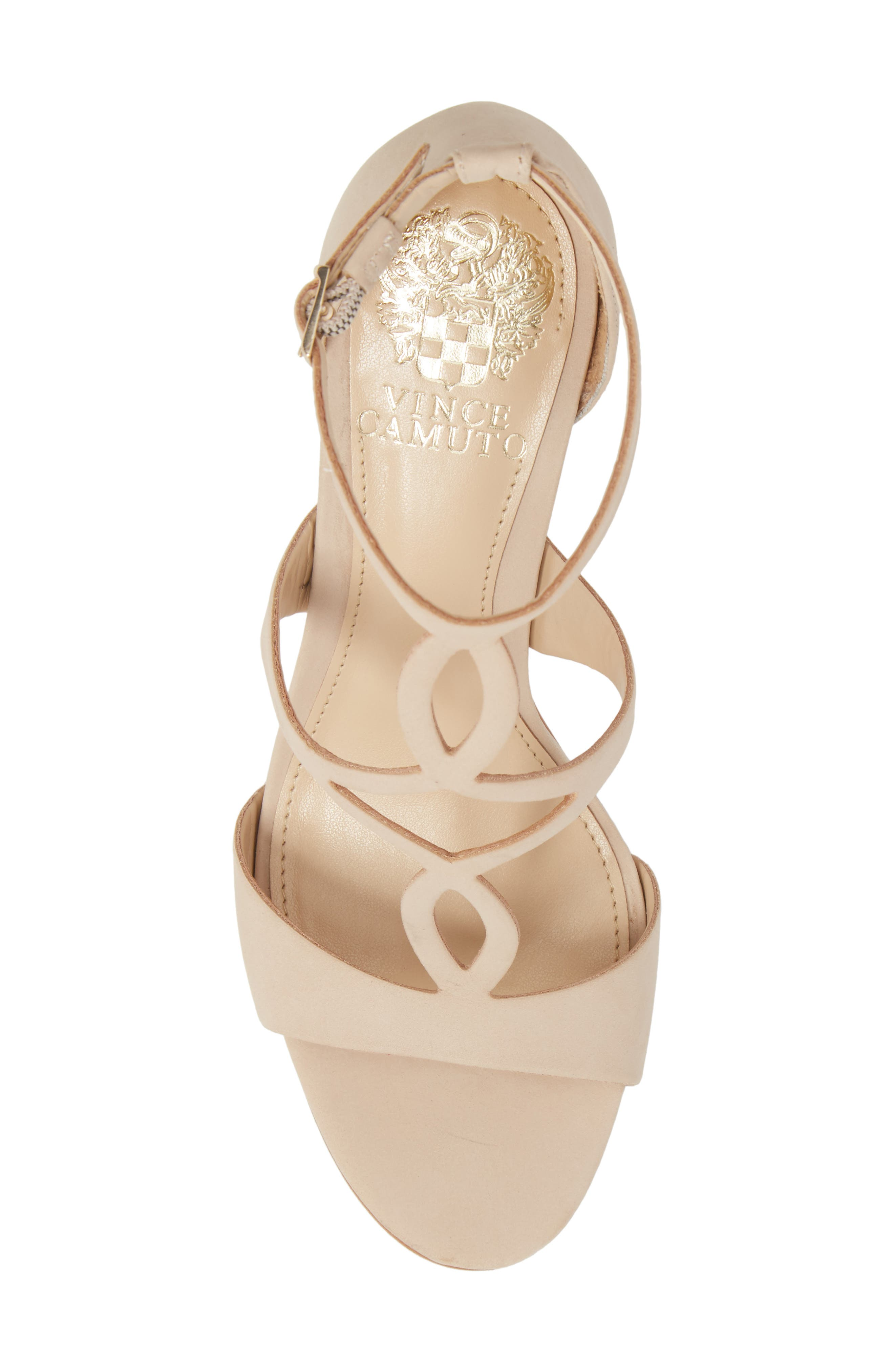 Payto Sandal,                             Alternate thumbnail 5, color,                             NUDE LEATHER
