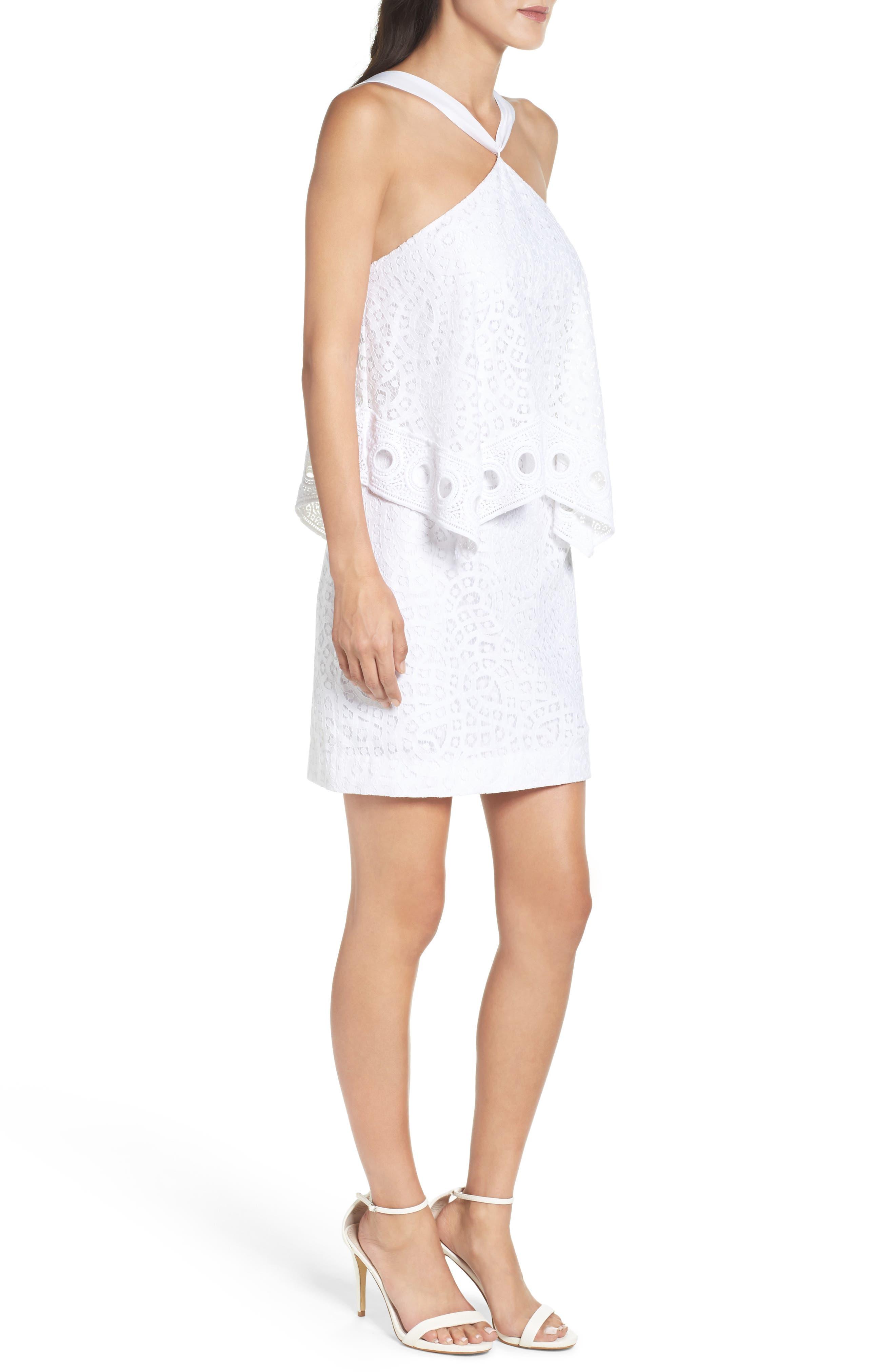 Pearson Popover Dress,                             Alternate thumbnail 3, color,                             115