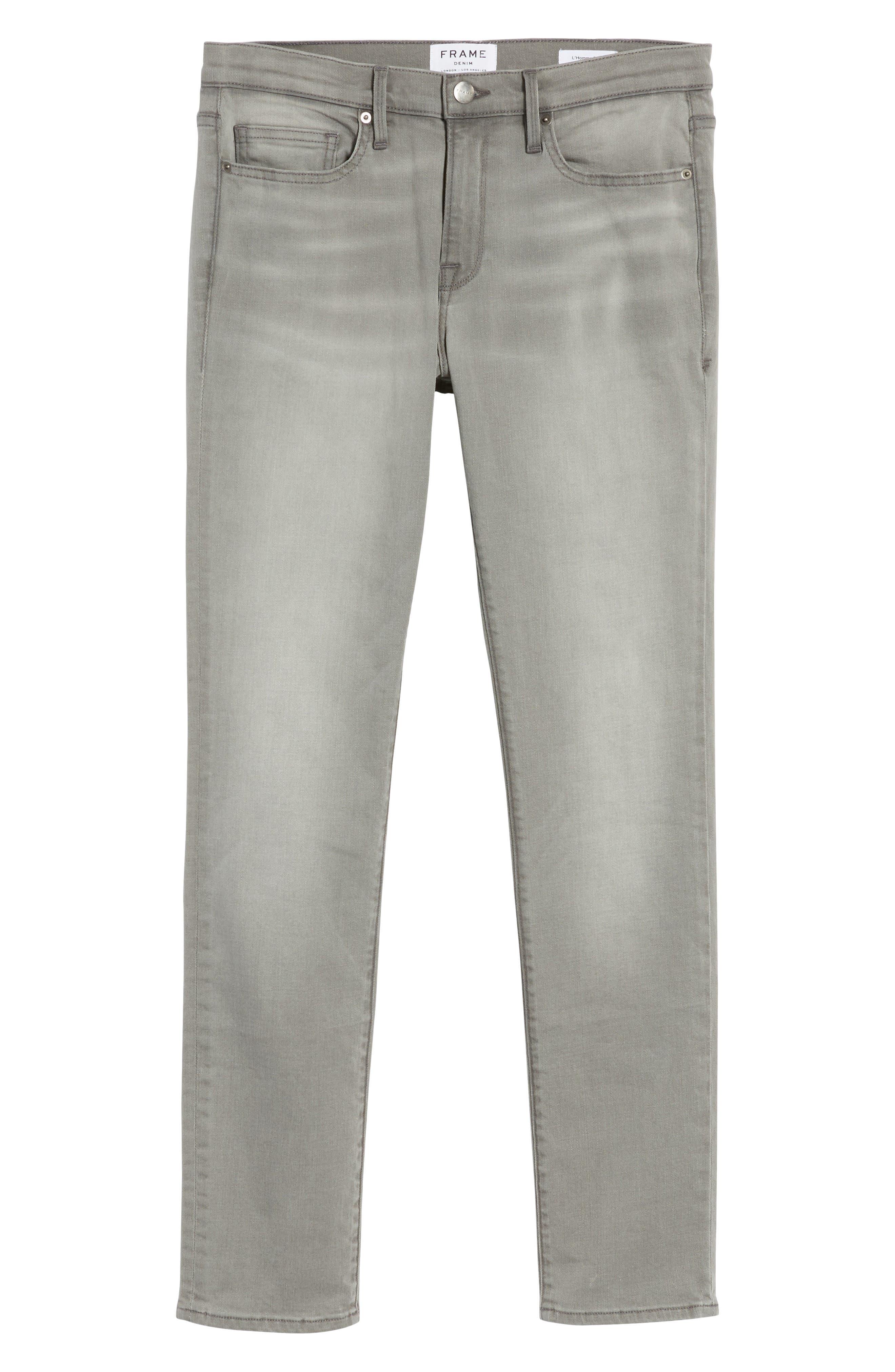 L'Homme Slim Fit Jeans,                             Alternate thumbnail 6, color,                             030