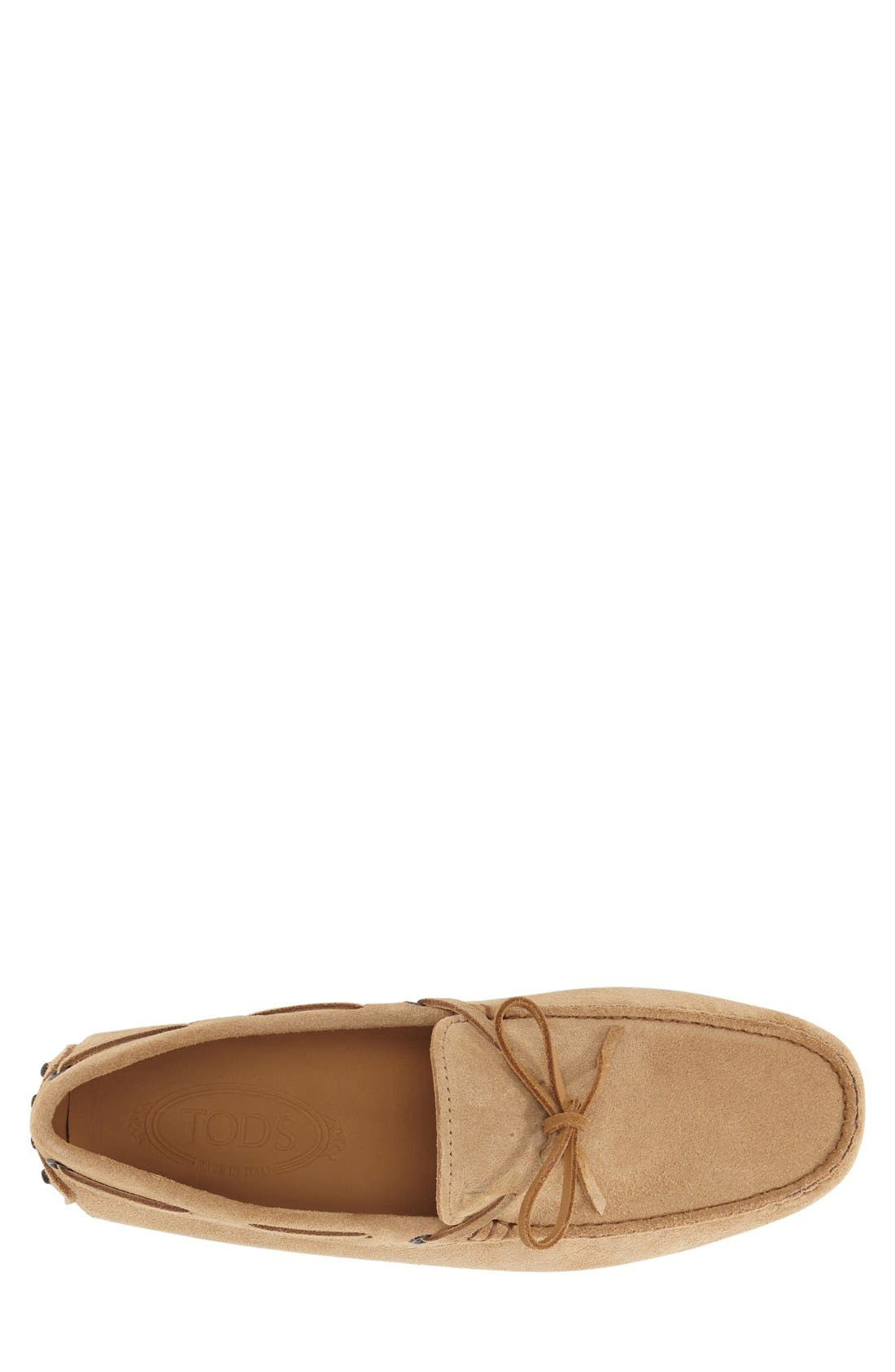 Gommini Tie Front Driving Moccasin,                             Alternate thumbnail 53, color,