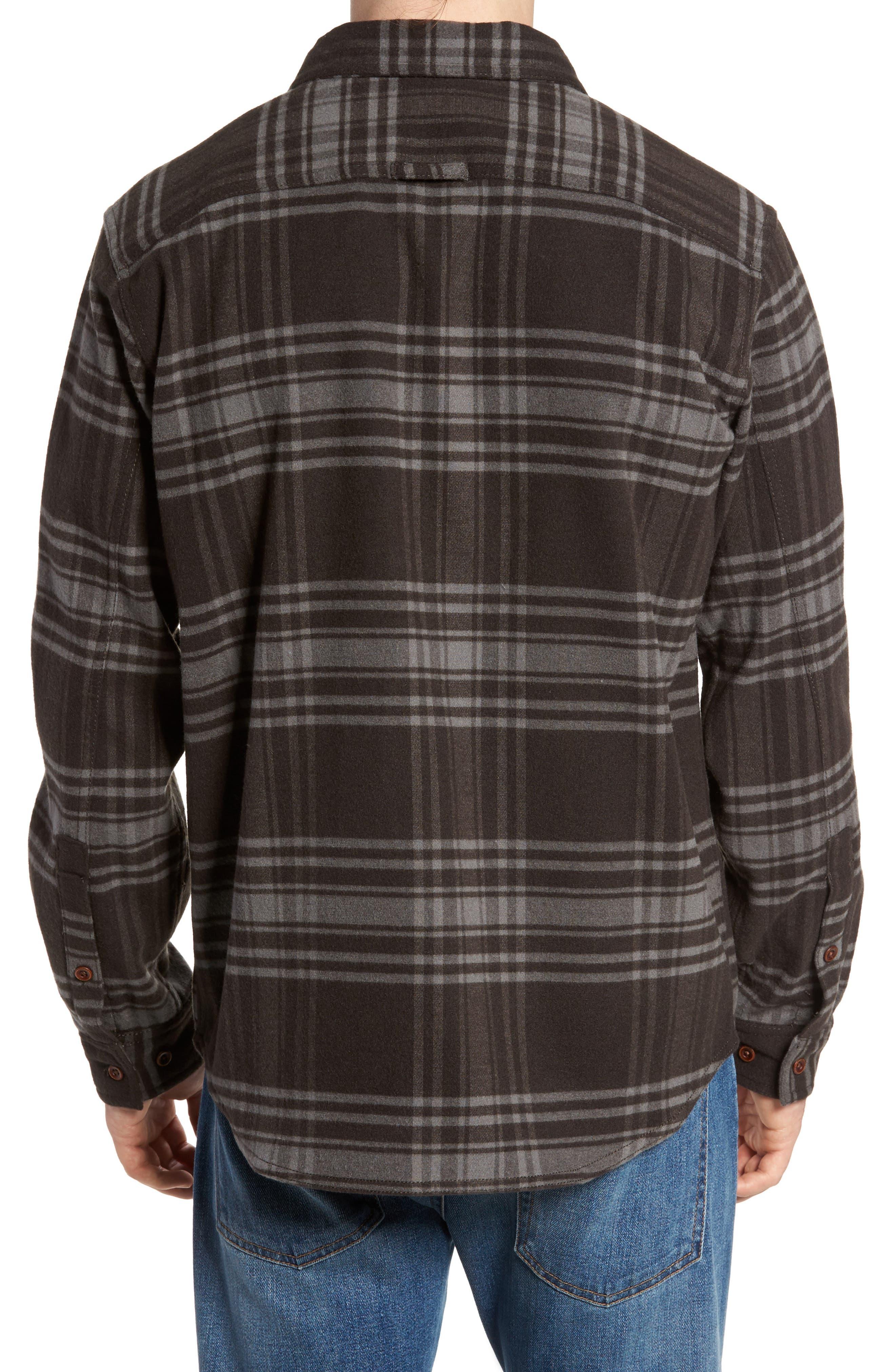 Deschutes River<sup>™</sup> Heavyweight Flannel Shirt Jacket,                             Alternate thumbnail 2, color,                             200