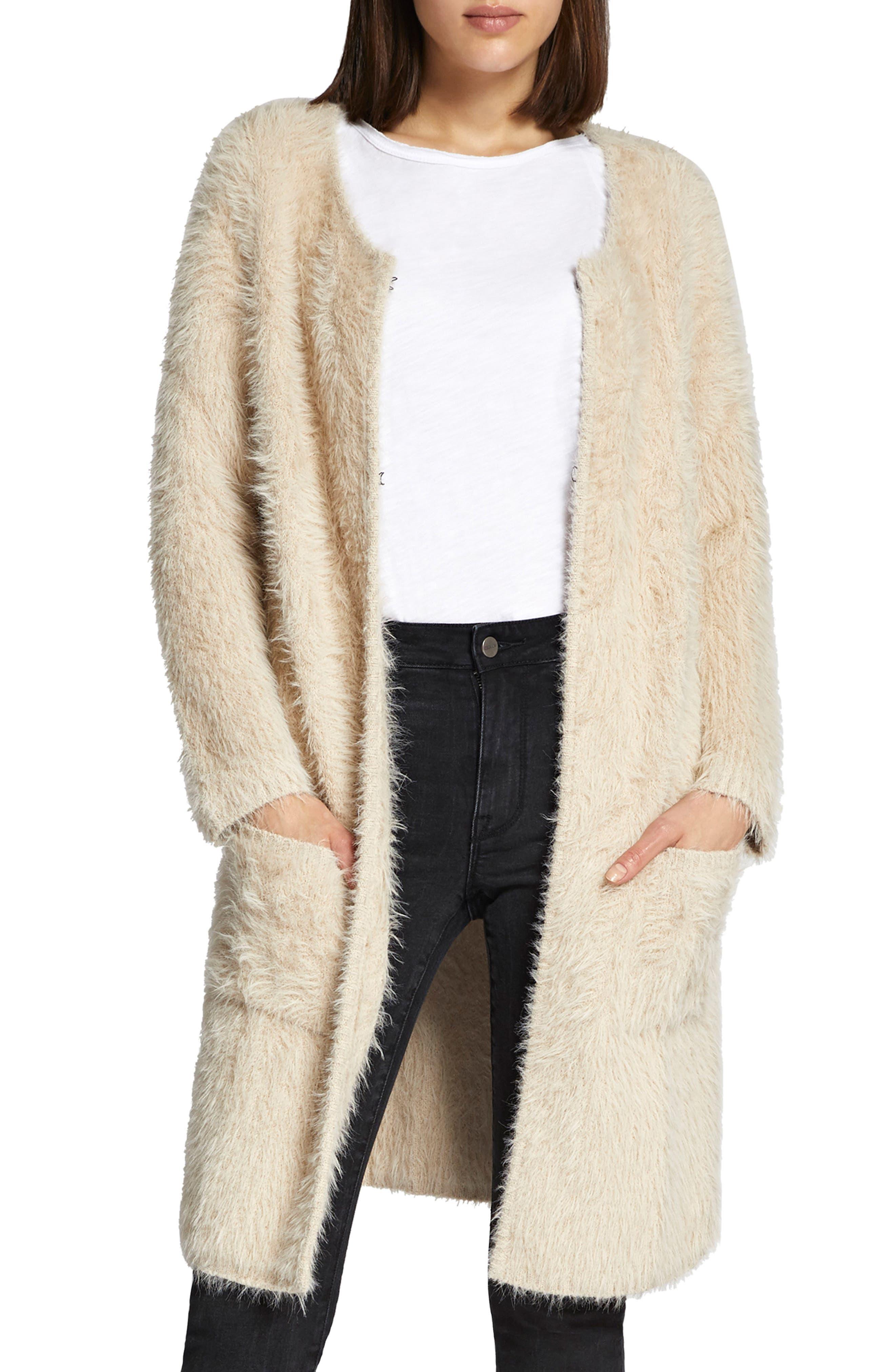 Faux Fur City Coat,                             Alternate thumbnail 2, color,                             250