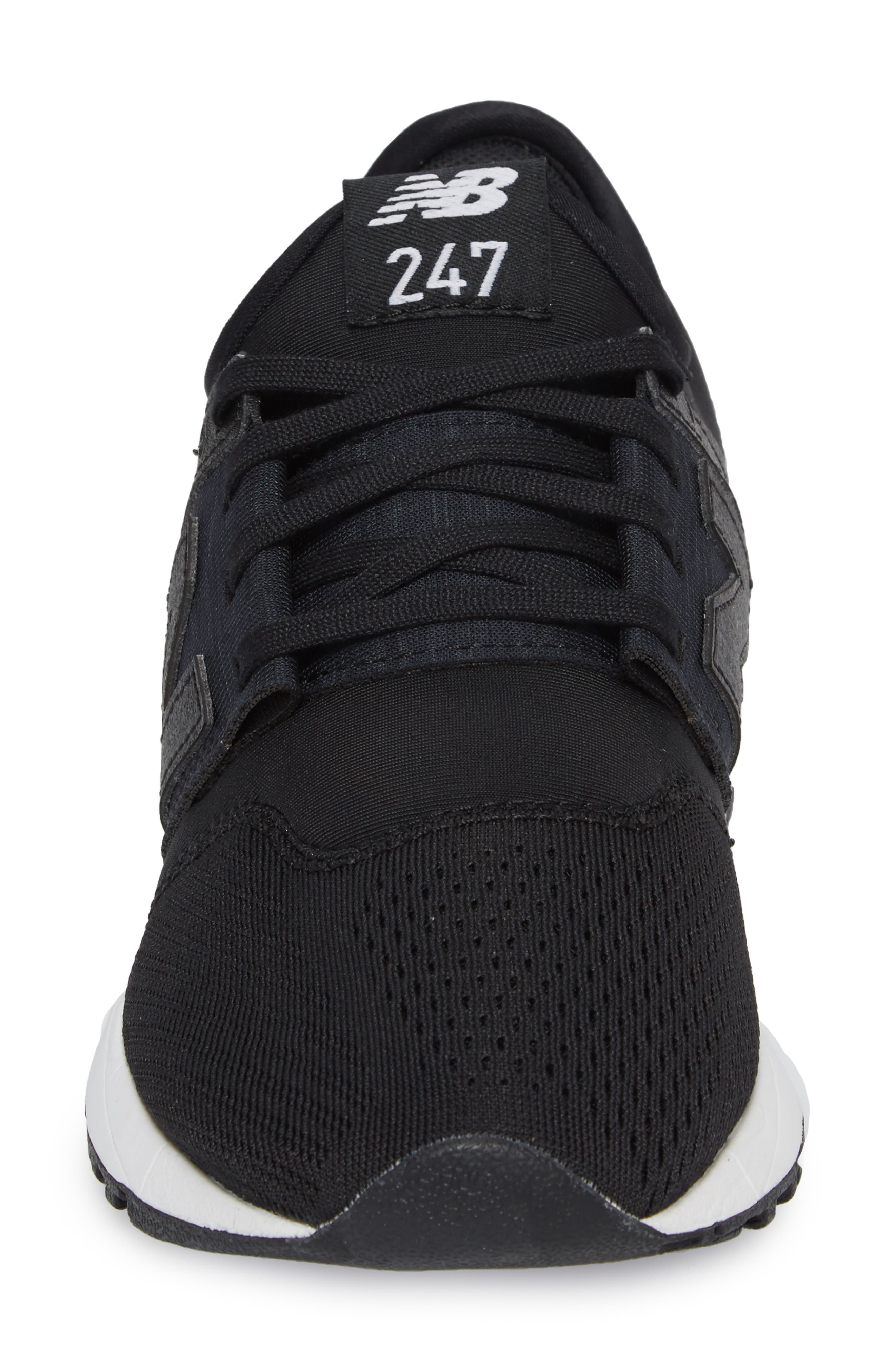 247 Classic Sneaker,                             Alternate thumbnail 4, color,                             001