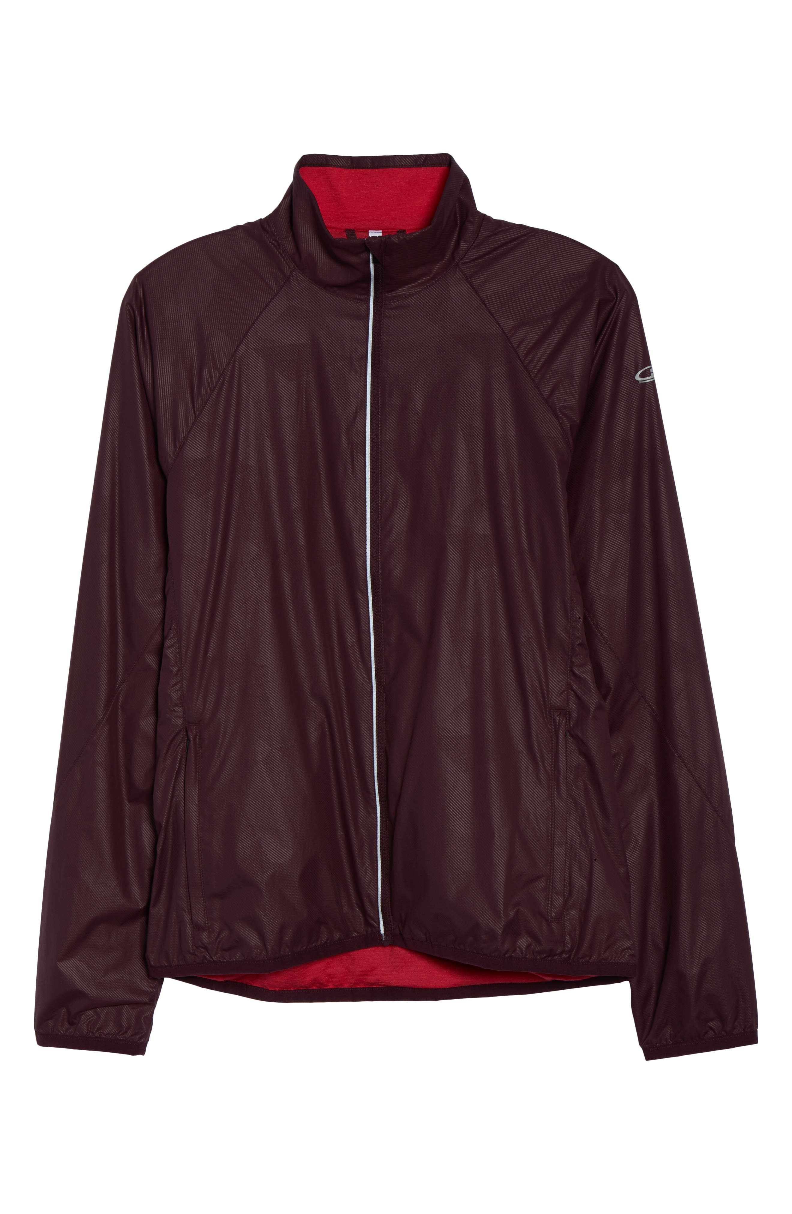 Cool-Lite<sup>™</sup> Rush Windbreaker Jacket,                             Alternate thumbnail 7, color,                             VELVET/ PRISM