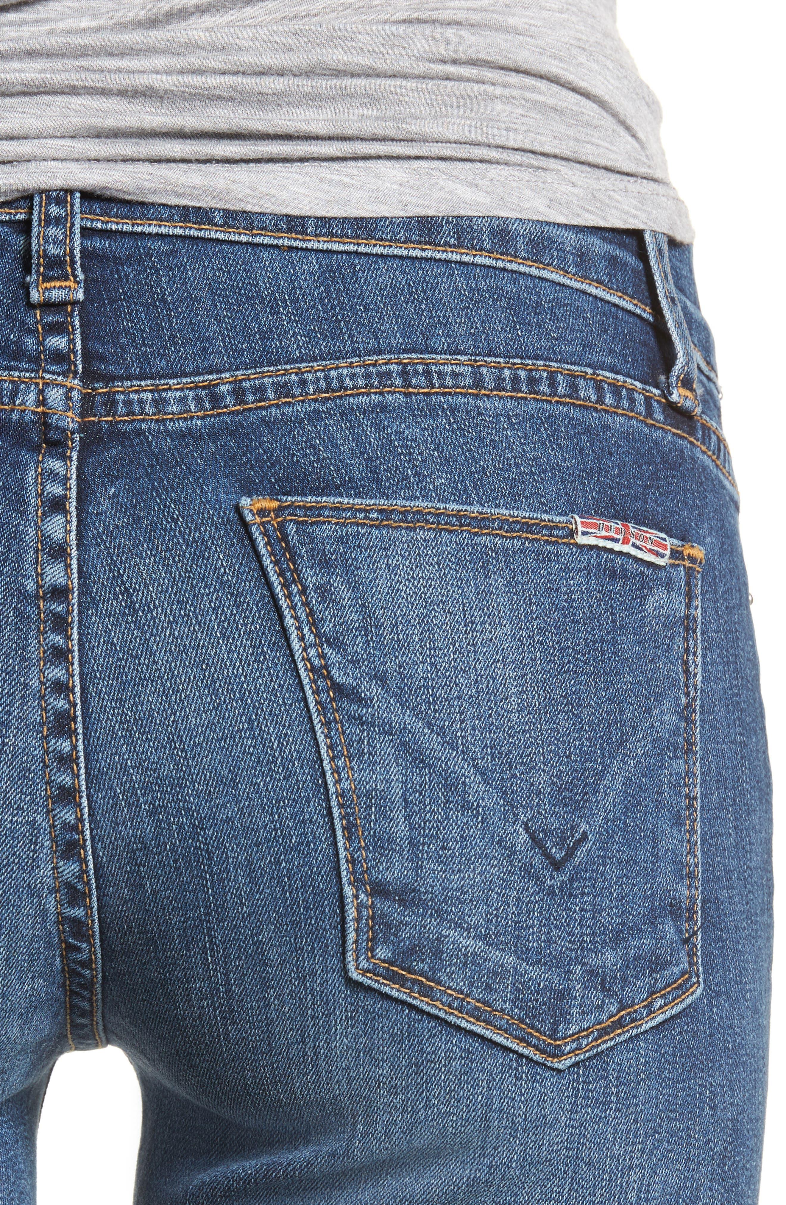 Tally Unfamed Hem Skinny Jeans,                             Alternate thumbnail 16, color,