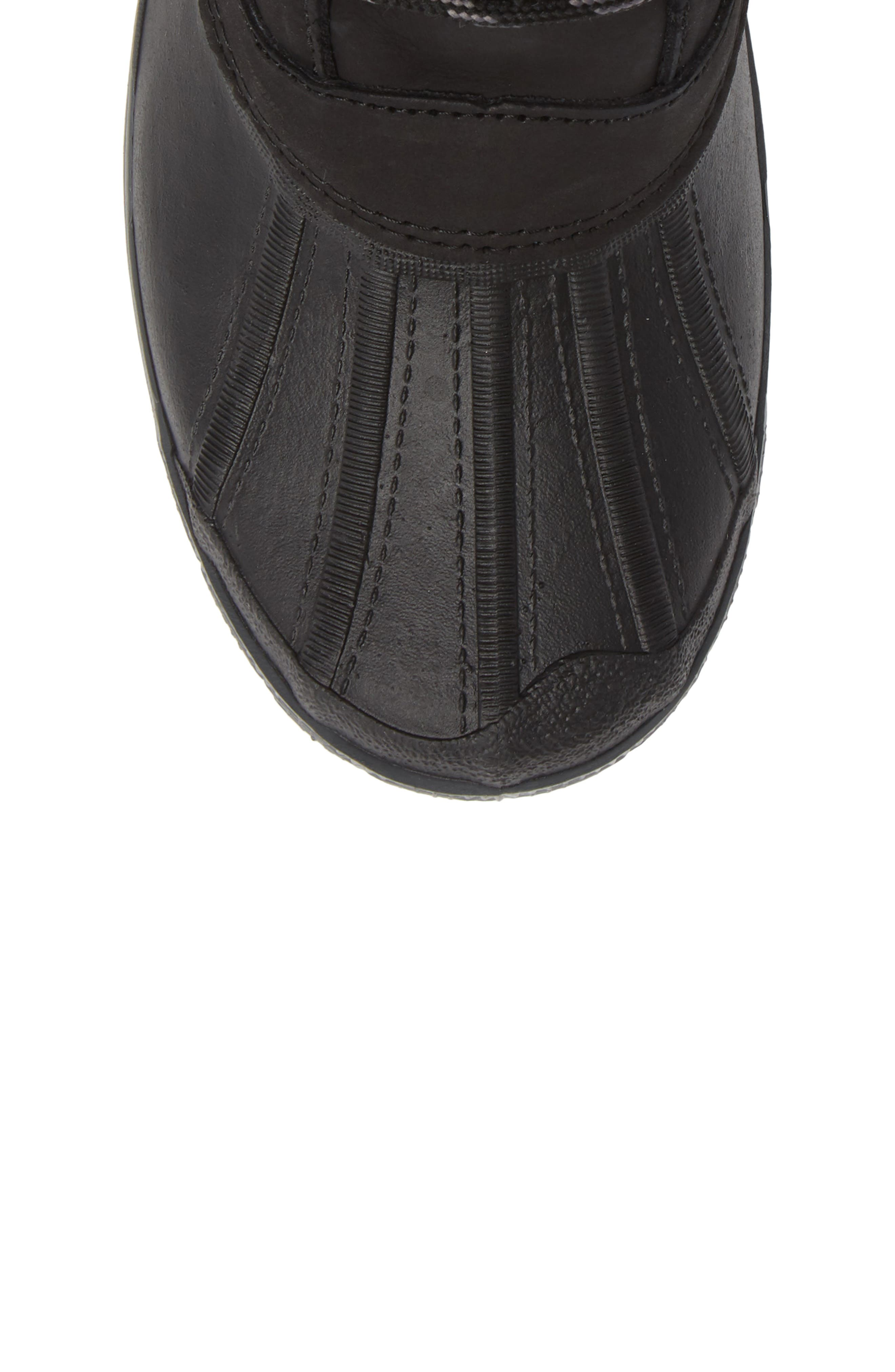 Cali Waterproof Insulated Boot,                             Alternate thumbnail 5, color,                             BROWN/ BLACK