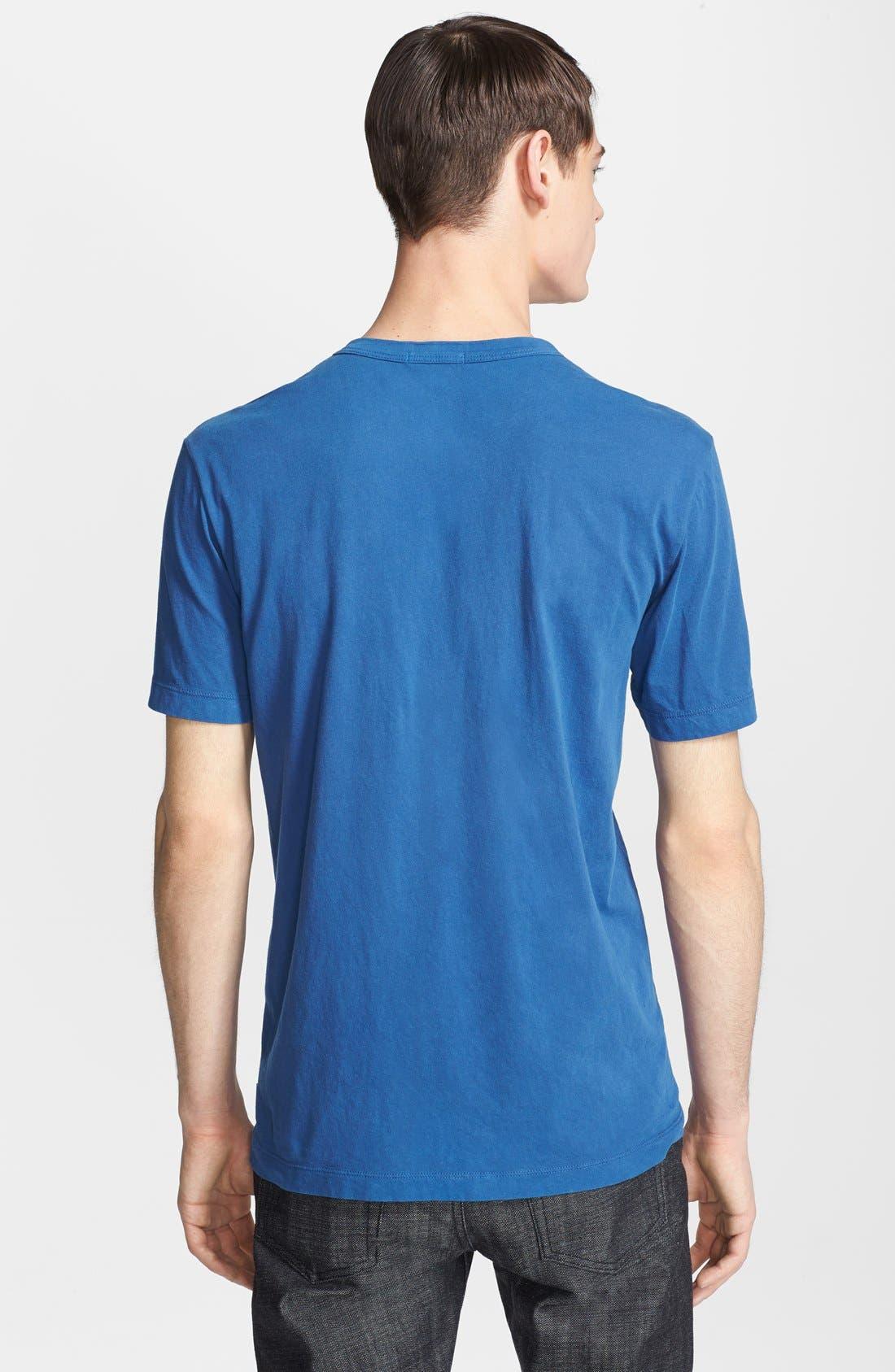 Crewneck Jersey T-Shirt,                             Alternate thumbnail 187, color,